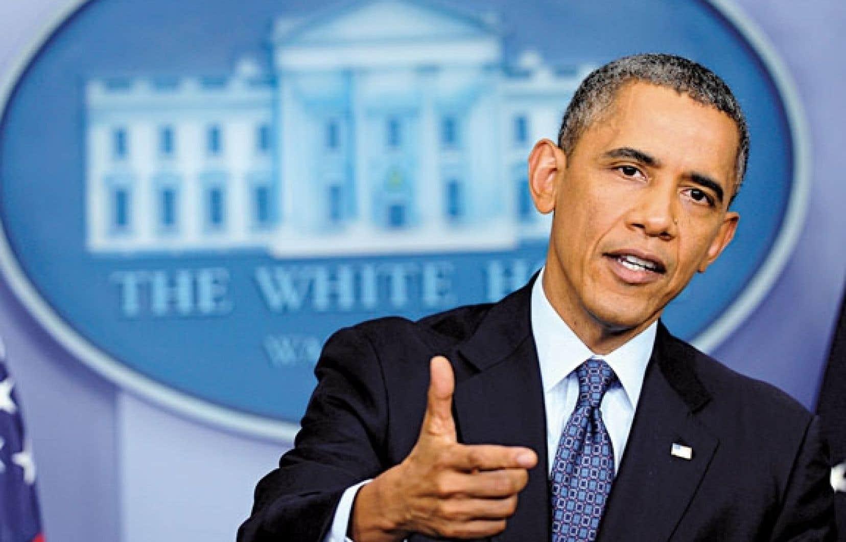 Barack Obama a demandé mercredi la tenue d'un vote sur le budget et la dette.