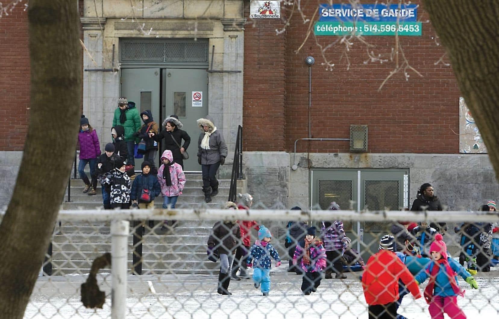 L'école primaire Saint-Gérard, un cas urgent désigné par le gouvernement, avait déjà reçu 10 millions de dollars pour la reconstruction complète.