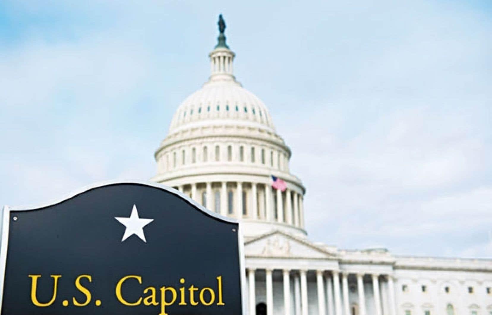 Le Capitole, à Washington, a été mercredi le lieu d'intenses négociations entre parlementaires.