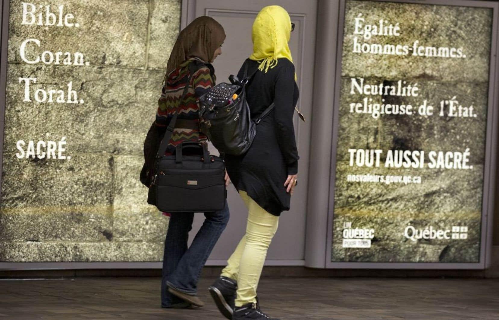 La charte des valeurs contrevient aux dispositions de la Charte québécoise
