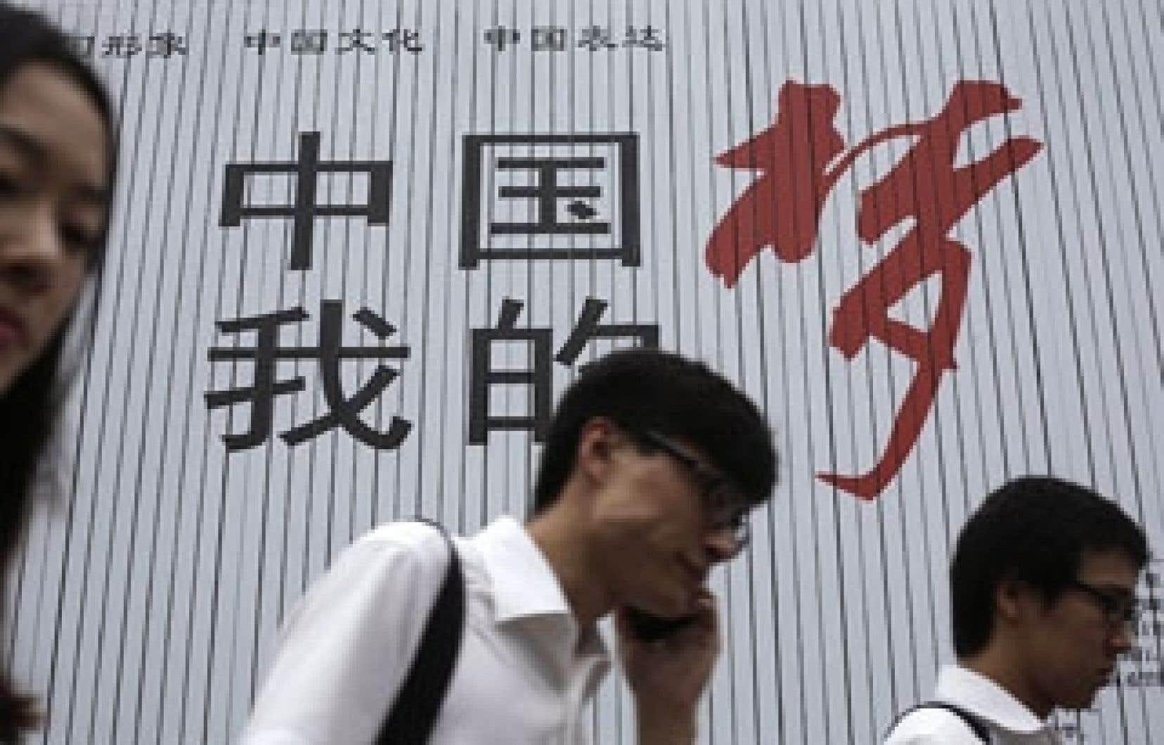 Un début d'année en nette décélération avait avivé les craintes d'un atterrissage brutal de l'économie chinoise.