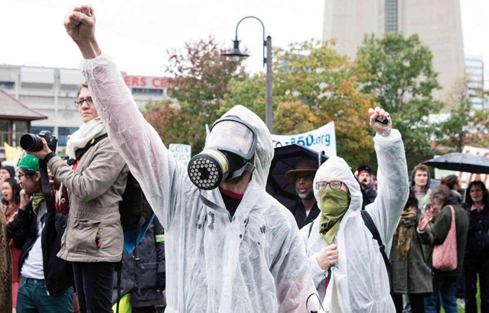 Aucune violence n'a éclaté lors du rassemblement de samedi, au centre-ville de Toronto.