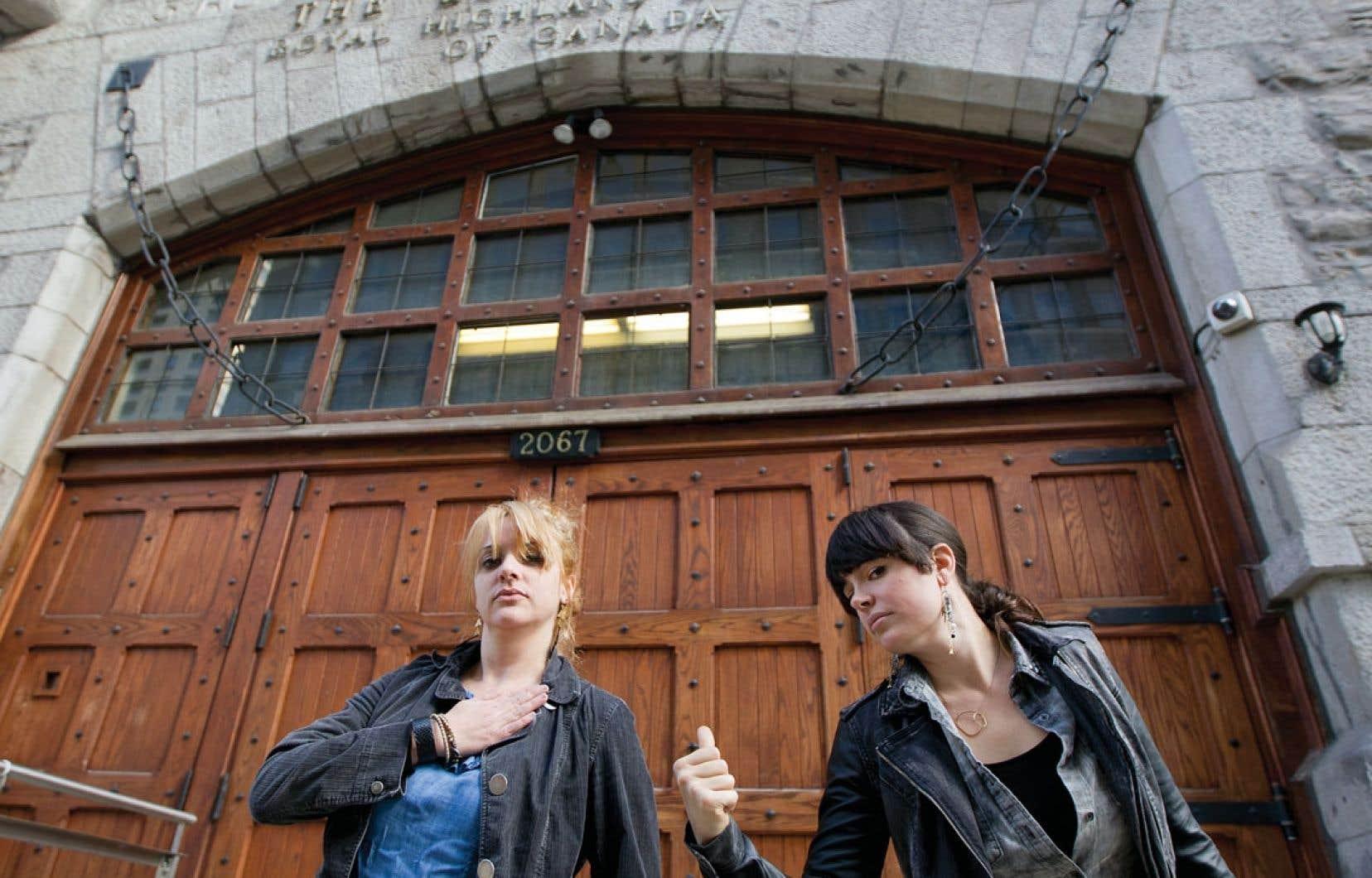 Eugénie Cliche et Annie Baillargeon ont fondé les Fermières obsédées alors qu'elles étaient encore étudiantes en arts visuels.