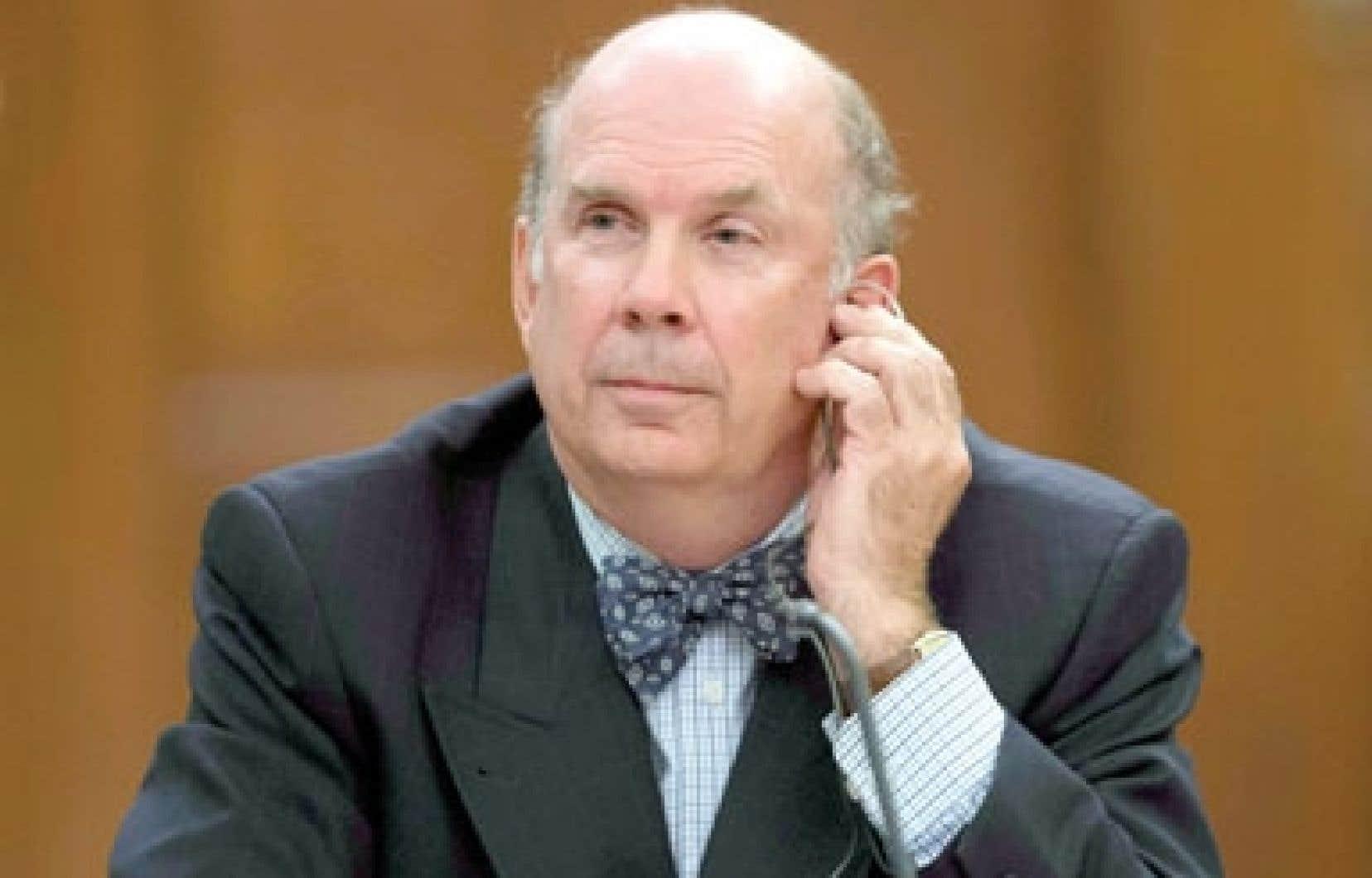 Le juge Marc Nadon, nommé pour occuper l'un des trois sièges réservés au Québec à la Cour suprême. Cette nomination a été rapidement contestée.