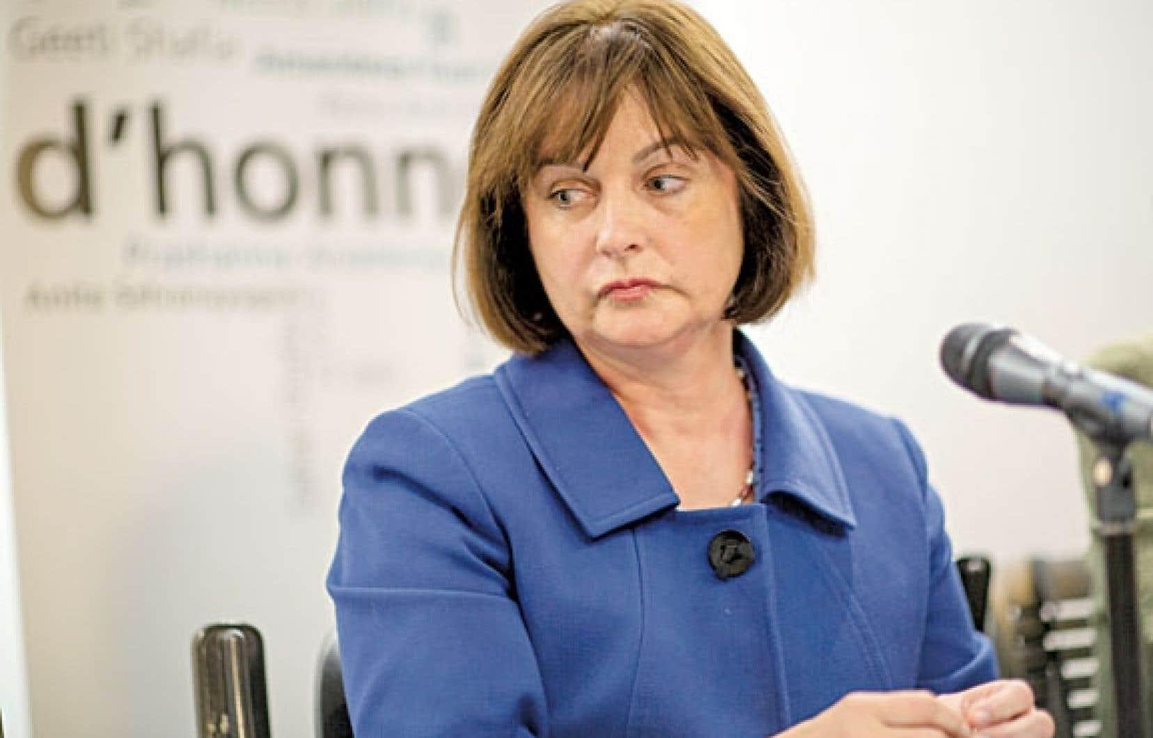 La présidente du Conseil du statut de la femme, Julie Miville-Dechêne, a publié mercredi un avis alarmant.