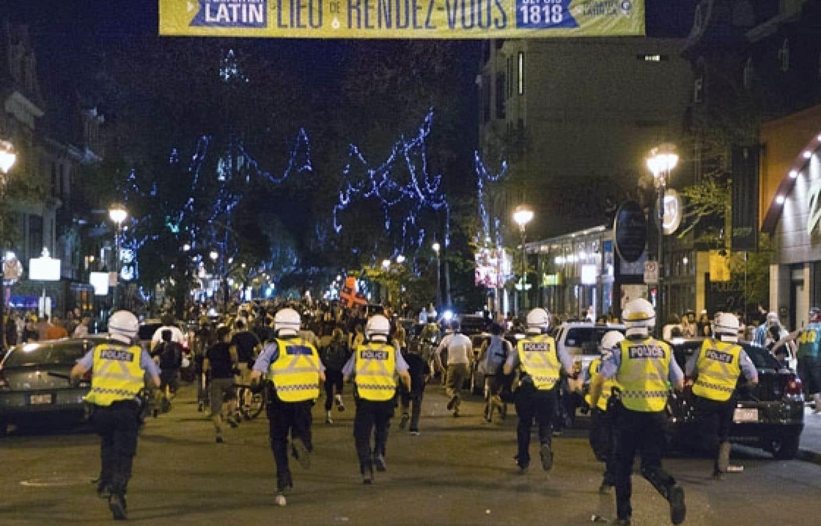 L'avocate Franccesca Cancino Ramos croit que les accusations portées contre les manifestants du printemps érable et les conditions de remise en liberté y étant rattachées ont été utilisées de manière dissuasive, pour notamment mettre fin aux manifestations nocturnes.