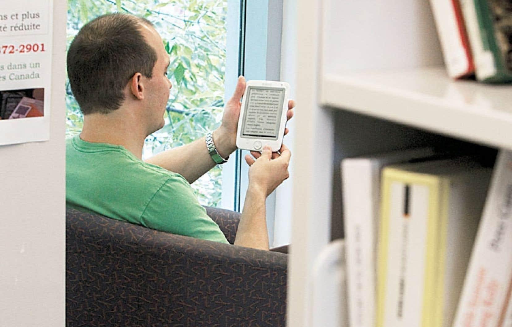 Les ventes numériques représentent environ 4 % du marché du livre au Québec.