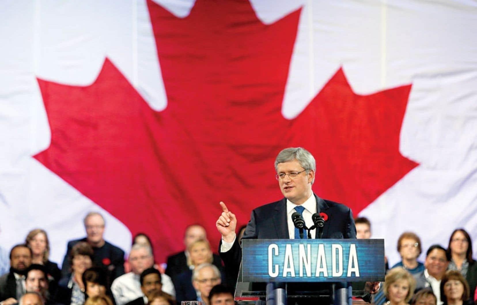 Le discours de Stephen Harper faisait partie d'un plan pour donner un second souffle au gouvernement conservateur, ébranlé par le scandale du Sénat.