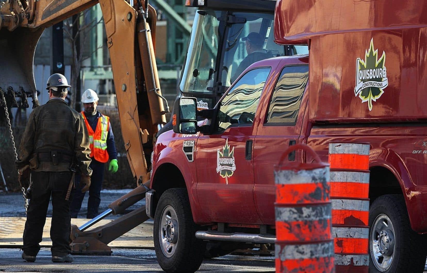 Constructions Louisbourg ltée est du nombre des compagnies que impliquées.