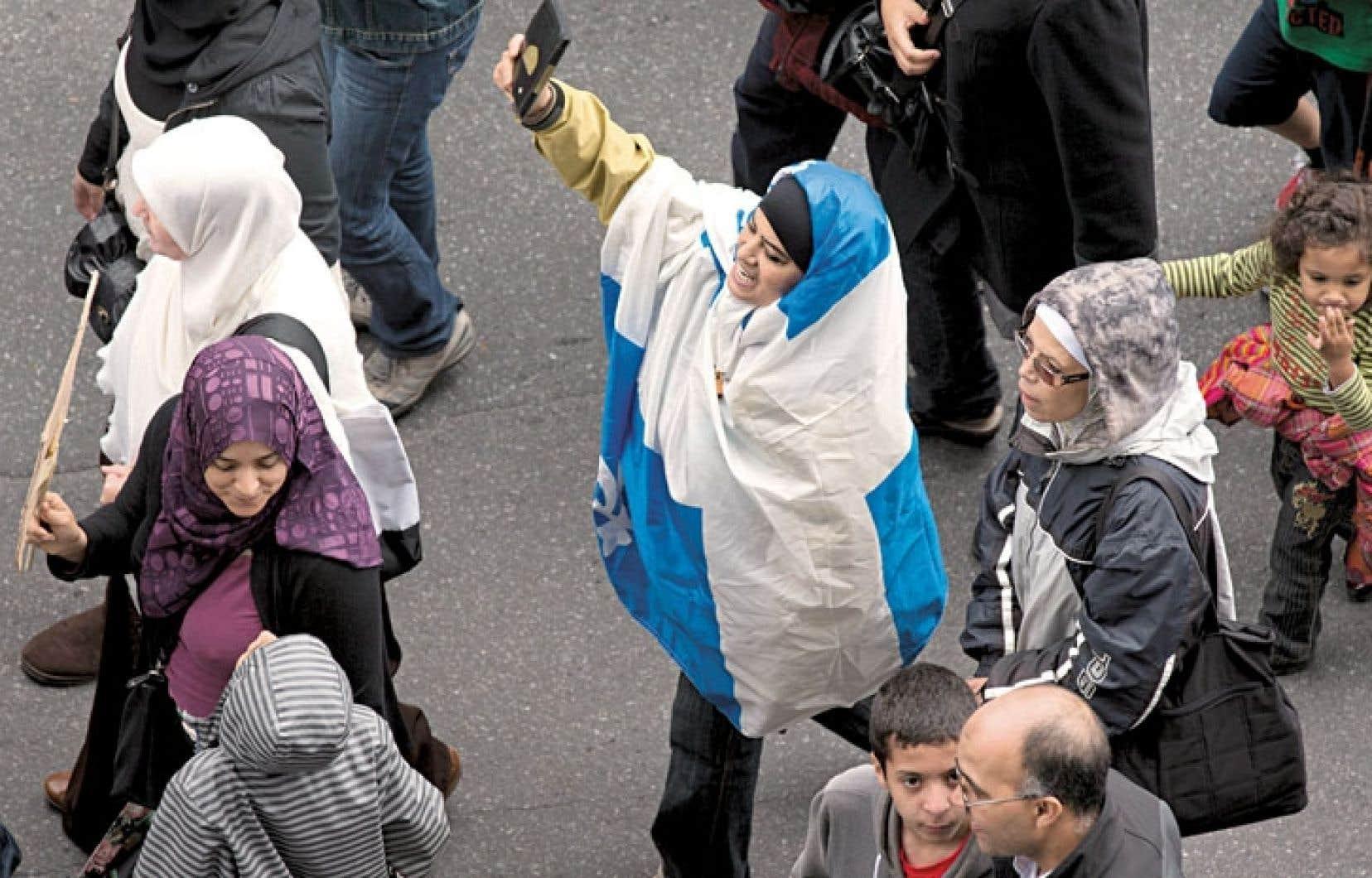 Certaines des plaignantes affirment avoir été agressées verbalement après des manifestations.