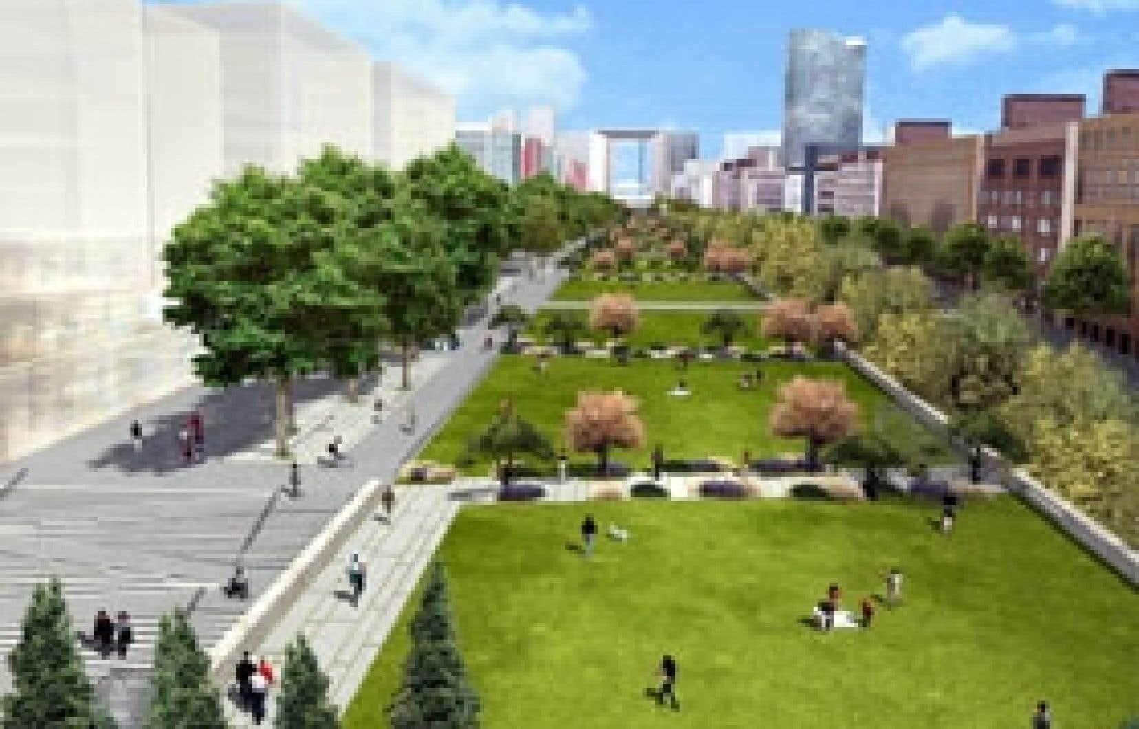 Nanterre est présentement la cible d'un important projet d'aménagement urbain et immobilier. Il s'agit du projet Seine-Arche qui viendra transformer, à la suite de l'enfouissement d'une autoroute, l'espace urbain entre l'Arche de la Déf