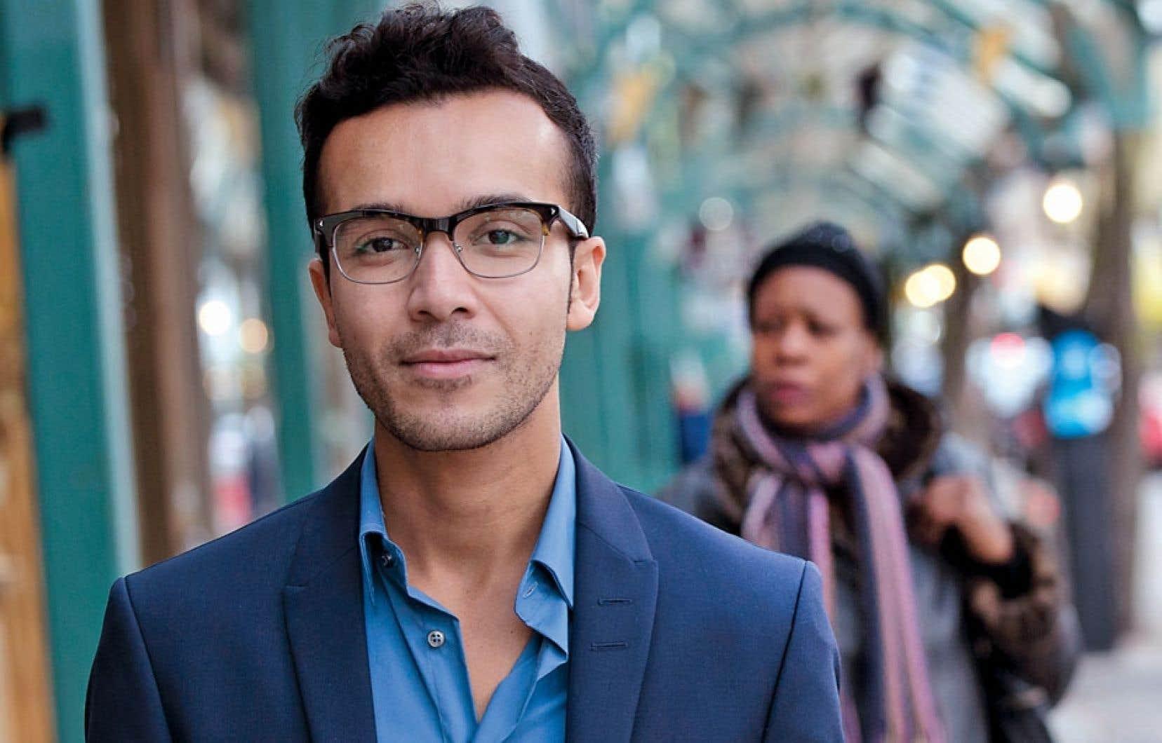 Gabriel Bran Lopez, fondateur de Fusion Jeunesse, une entreprise sociale de 130 employés qui lutte contre le décrochage en aidant des écoliers à lancer des projets dans plusieurs domaines.