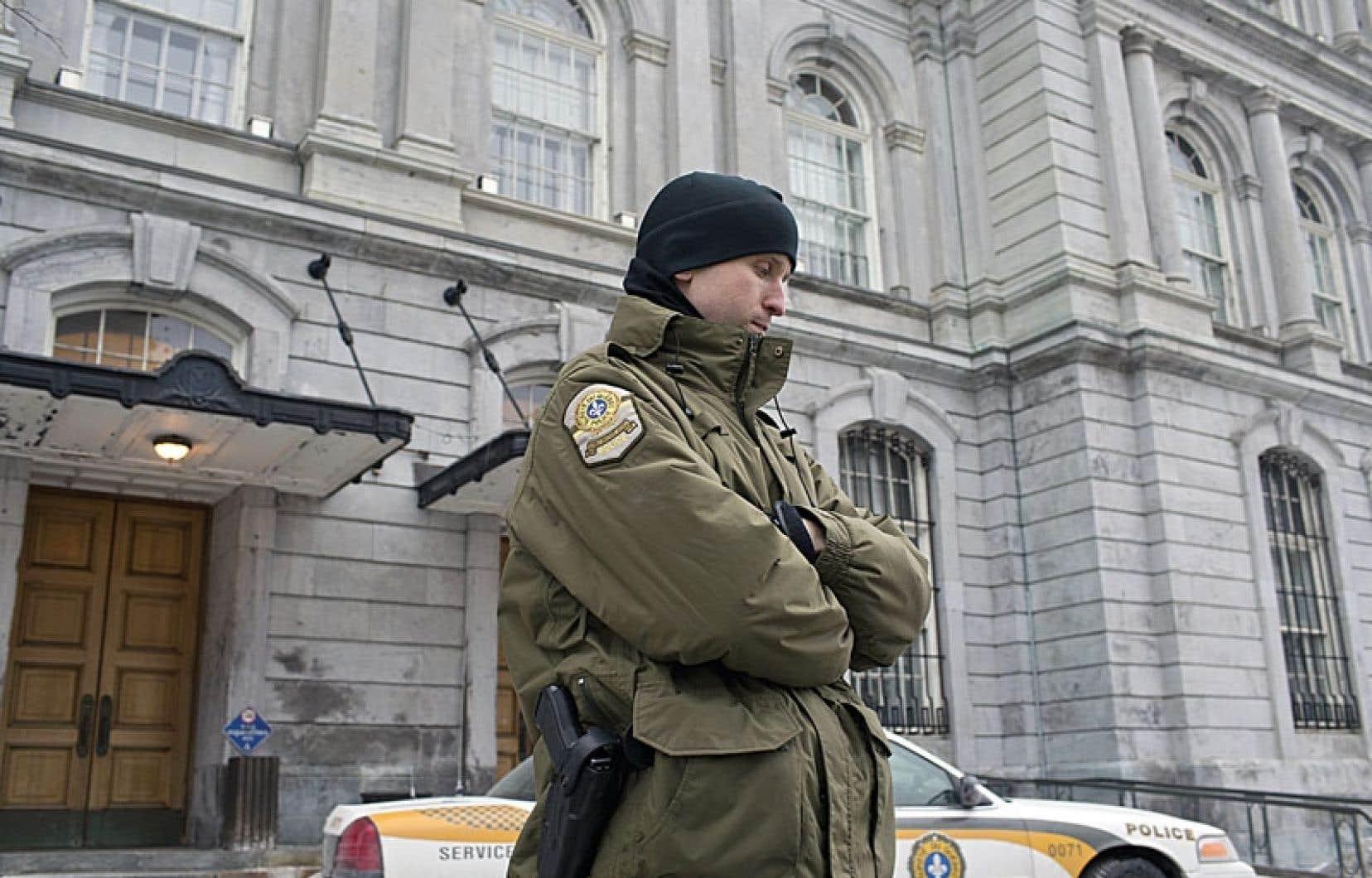 En février2013, l'UPAC avait procédé à de spectaculaires perquisitions à l'hôtel de ville de Montréal.