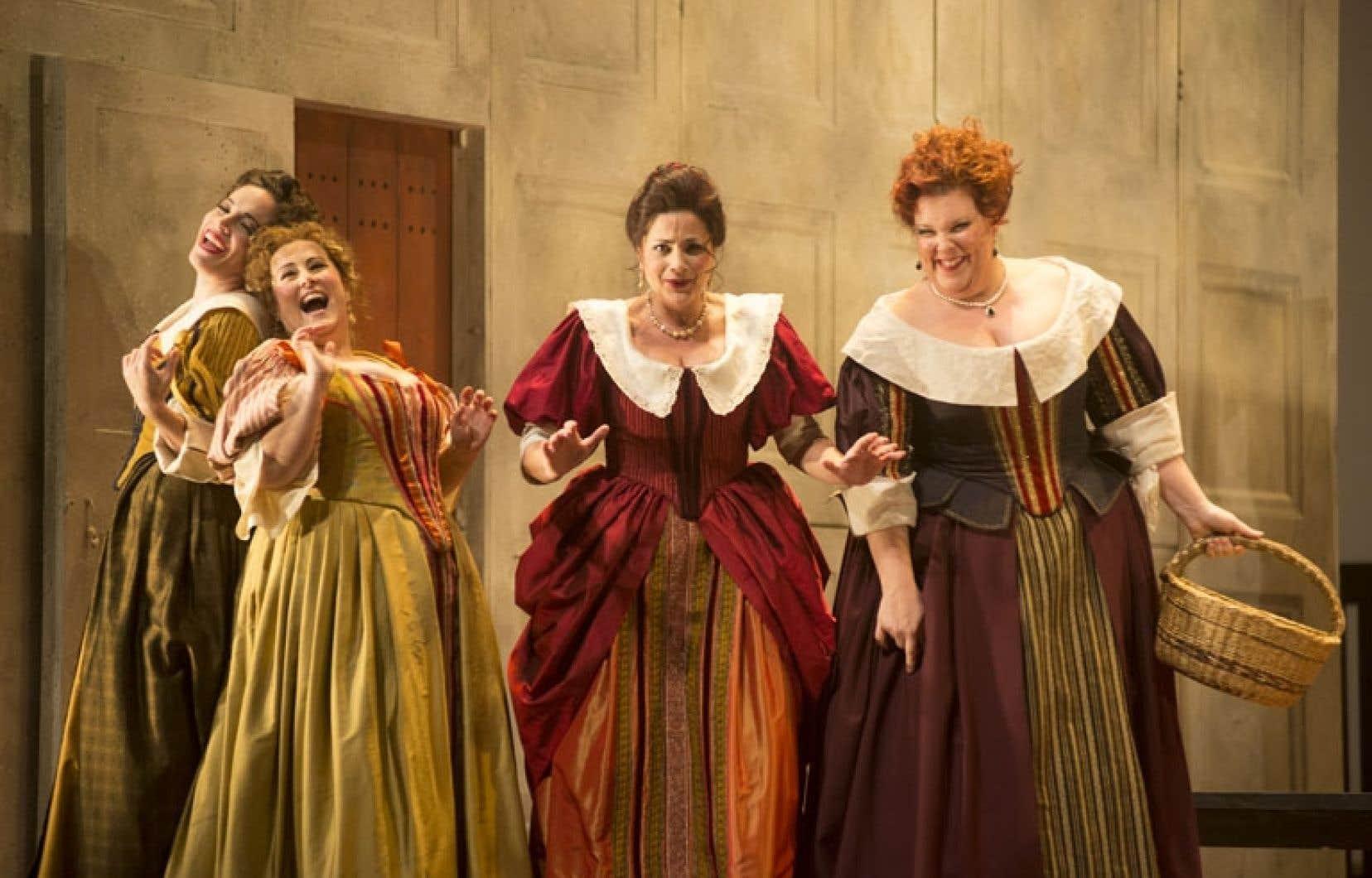 Falstaff, présenté à l'Opéra de Montréal, doit être vu pour la grâce même du spectacle.