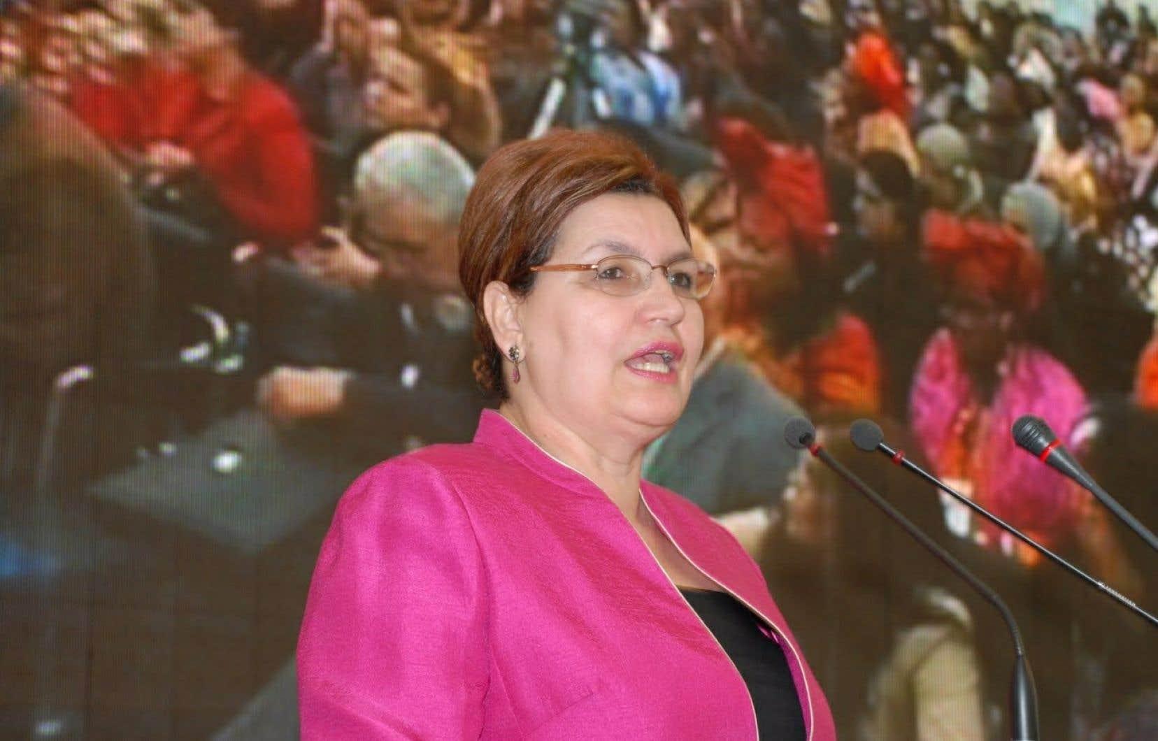 Se disant «sidérée, blessée et choquée» par les déclarations récentes de son collègue Marc Tanguay sur le tchador, Fatima Houda-Pepin a fait parvenir une lettre dans laquelle elle dit ne plus reconnaître son parti.