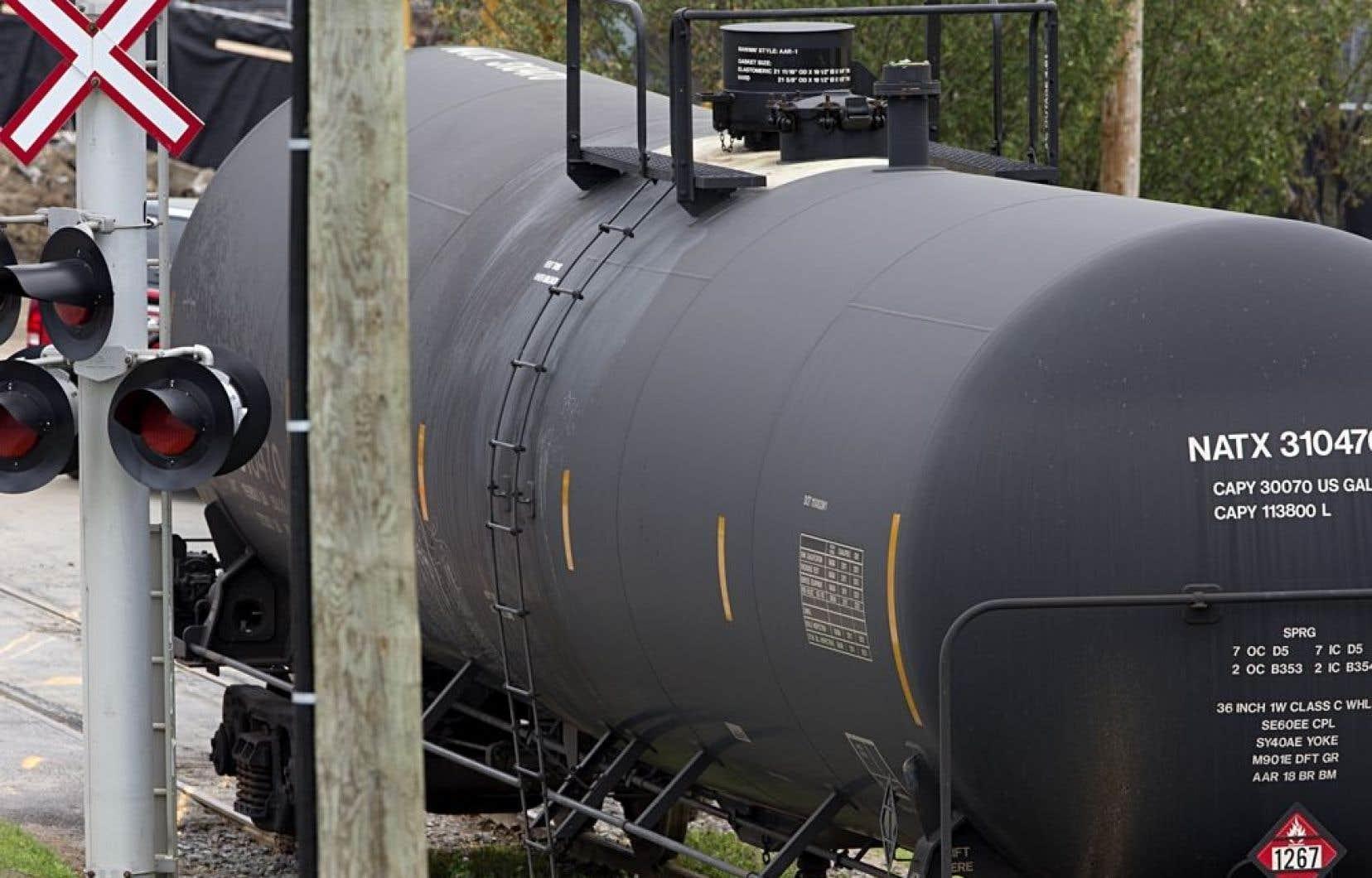 Les compagnies canadiennes de classe 1 transportant des produits dangereux devront faire rapport tous les trois mois.