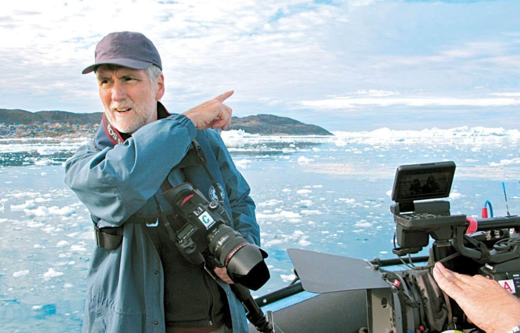 Le documentariste a su filmer les paysages magnifiques du Grand Nord.