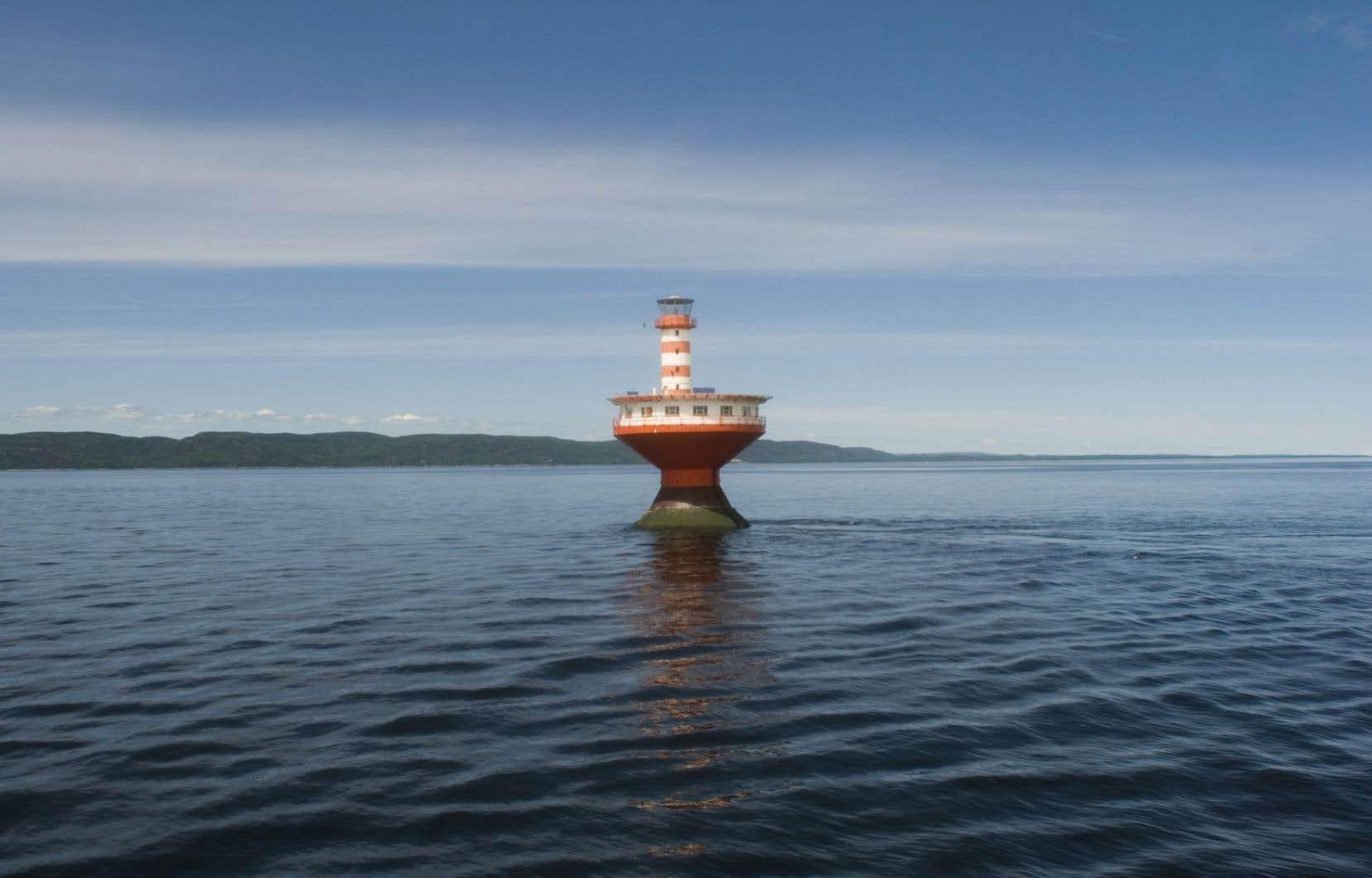 Le projet sera construit en plein cœur de la pouponnière des bélugas du Saint-Laurent et près du seul parc marin du Québec.<br />