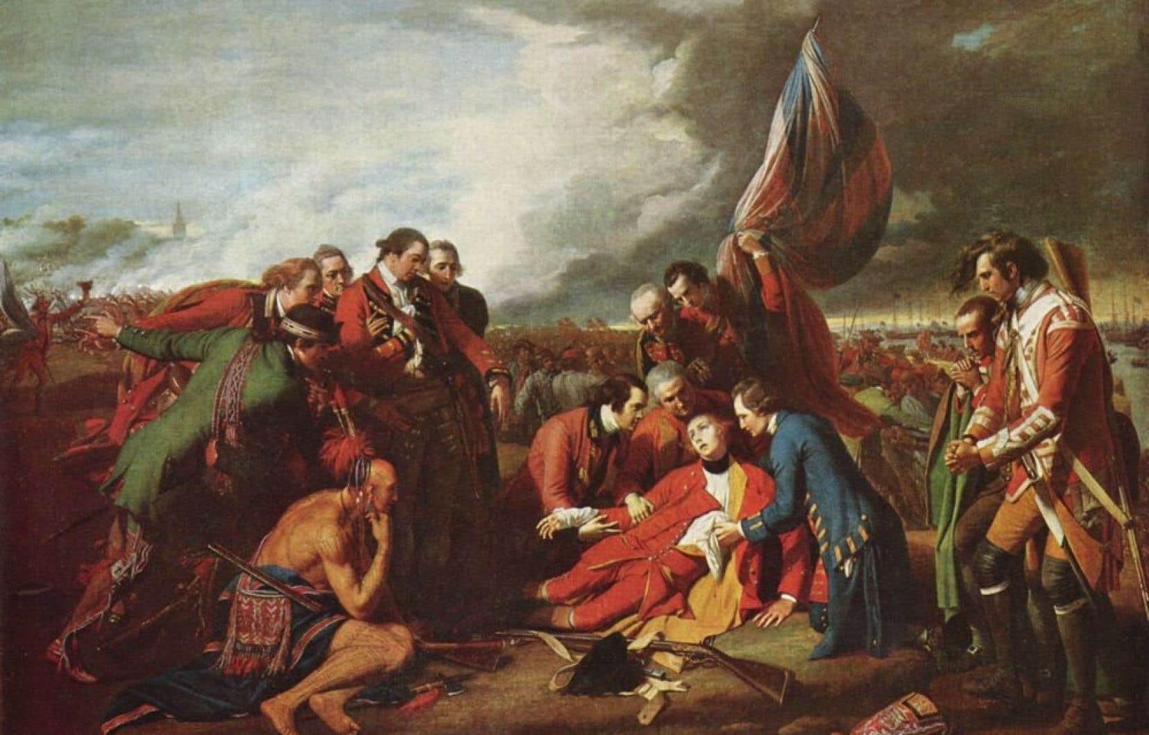 West, <em>La Mort du général Wolfe</em>, 1771 Musée des beaux-arts du Canada