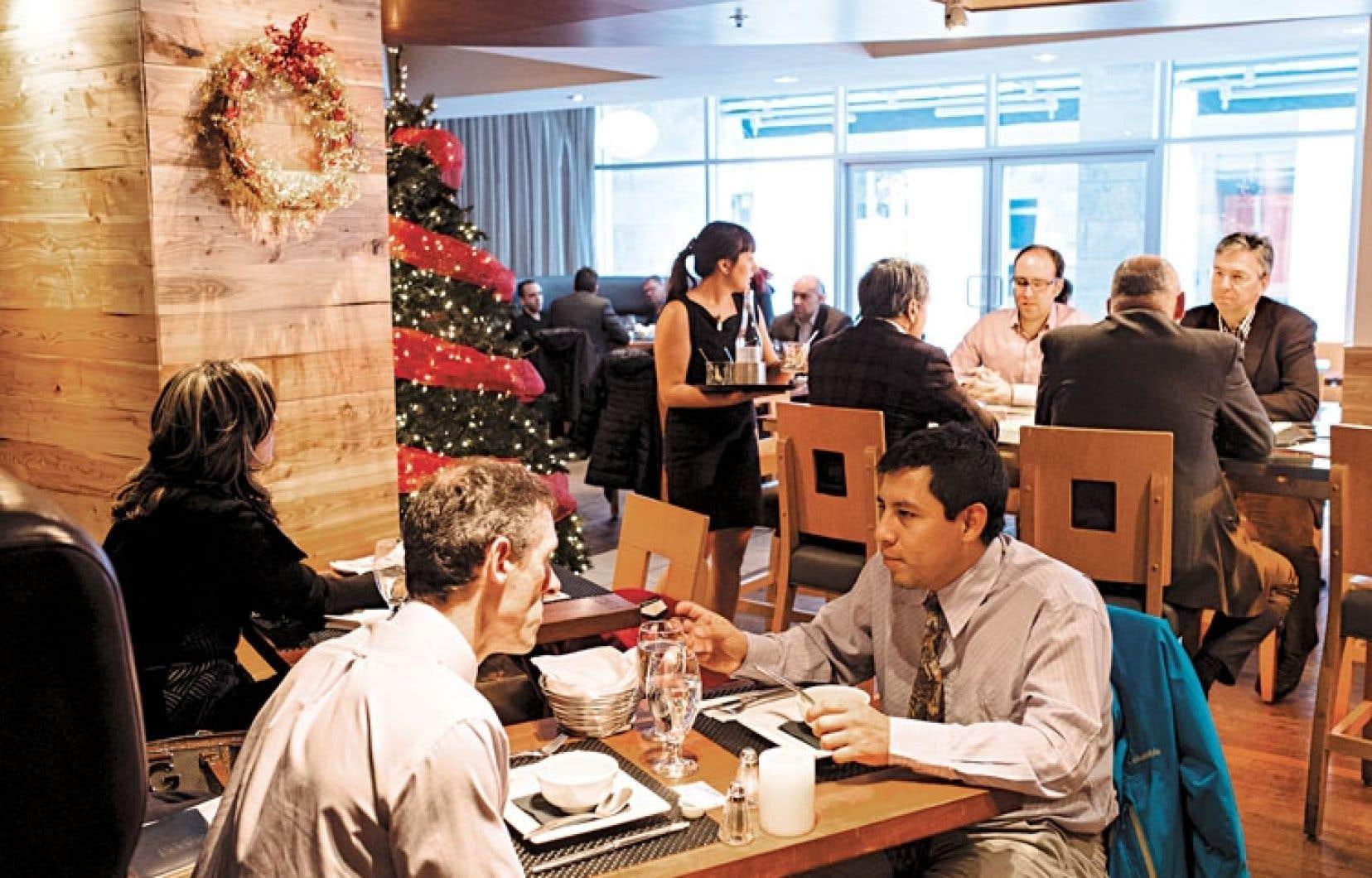 Le restaurant Versa est installé dans le quartier Nouvo Saint-Roch, à Québec.