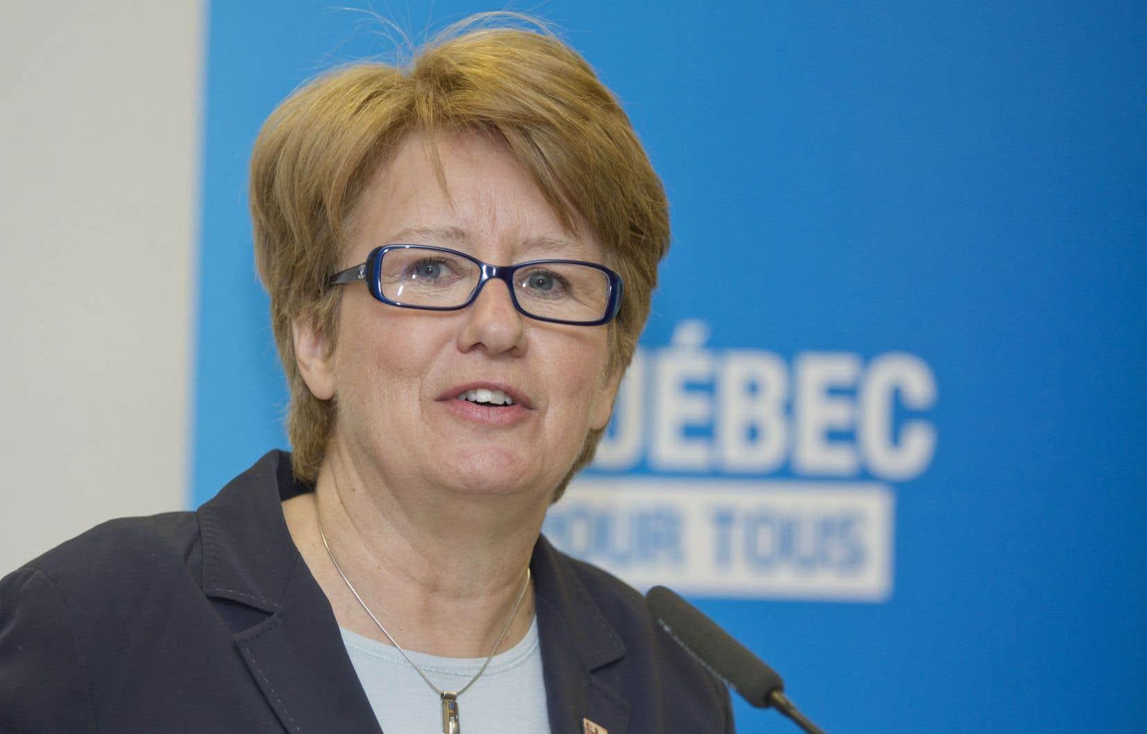 La ministre de l'Emploi, Agnès Maltais, prévoit le dépôt en 2014 de deux projets de loi, un au printemps, l'autre à l'automne.
