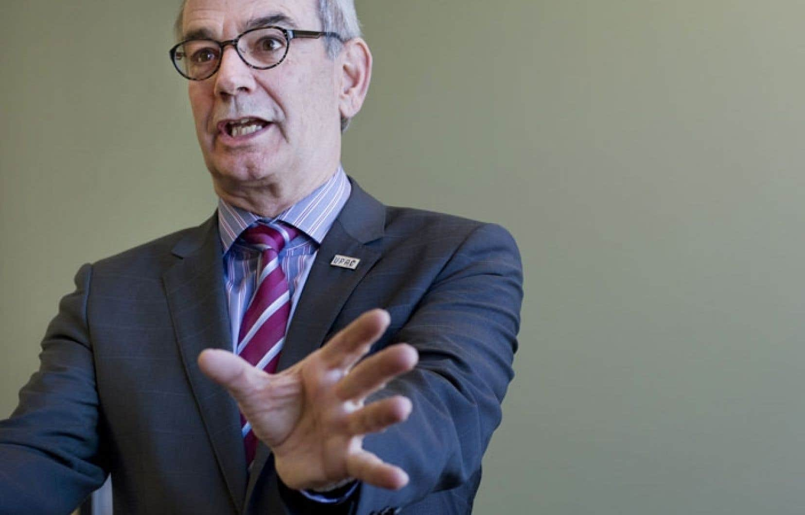 Le commissaire à la lutte contre la corruption, Robert Lafrenière a dévoilé lundi les résultats obtenus par l'UPAC en 2013.