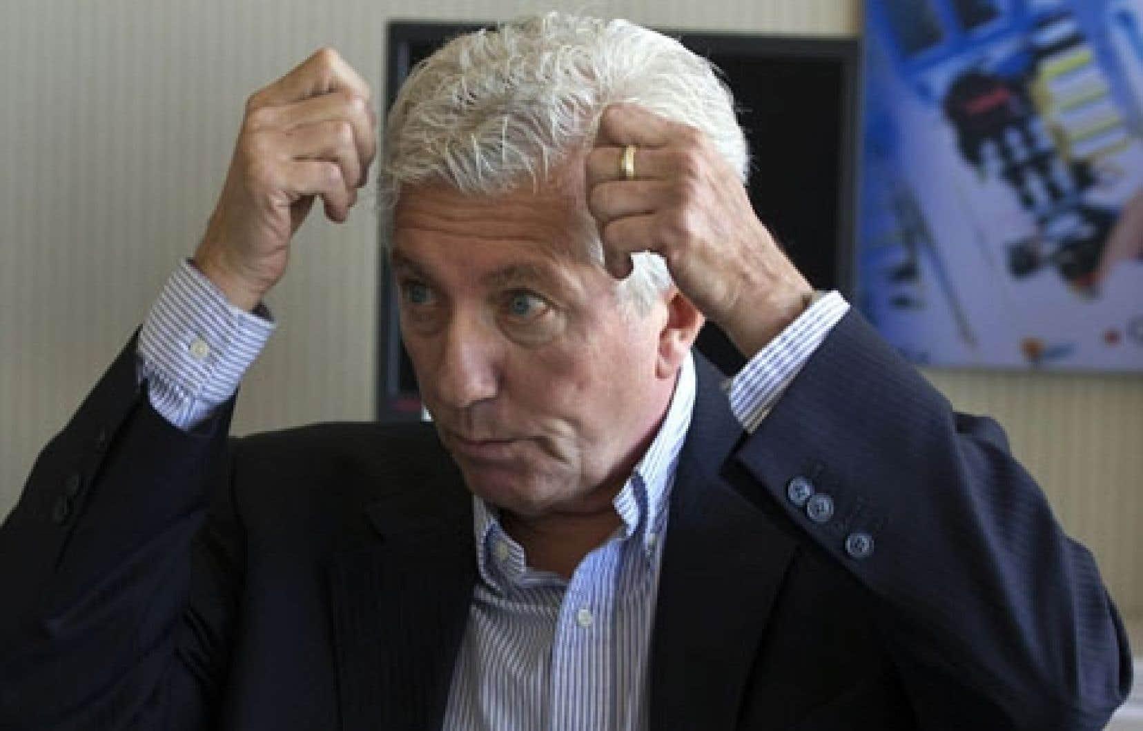 L'ancien chef du Bloc, Gilles Duceppe