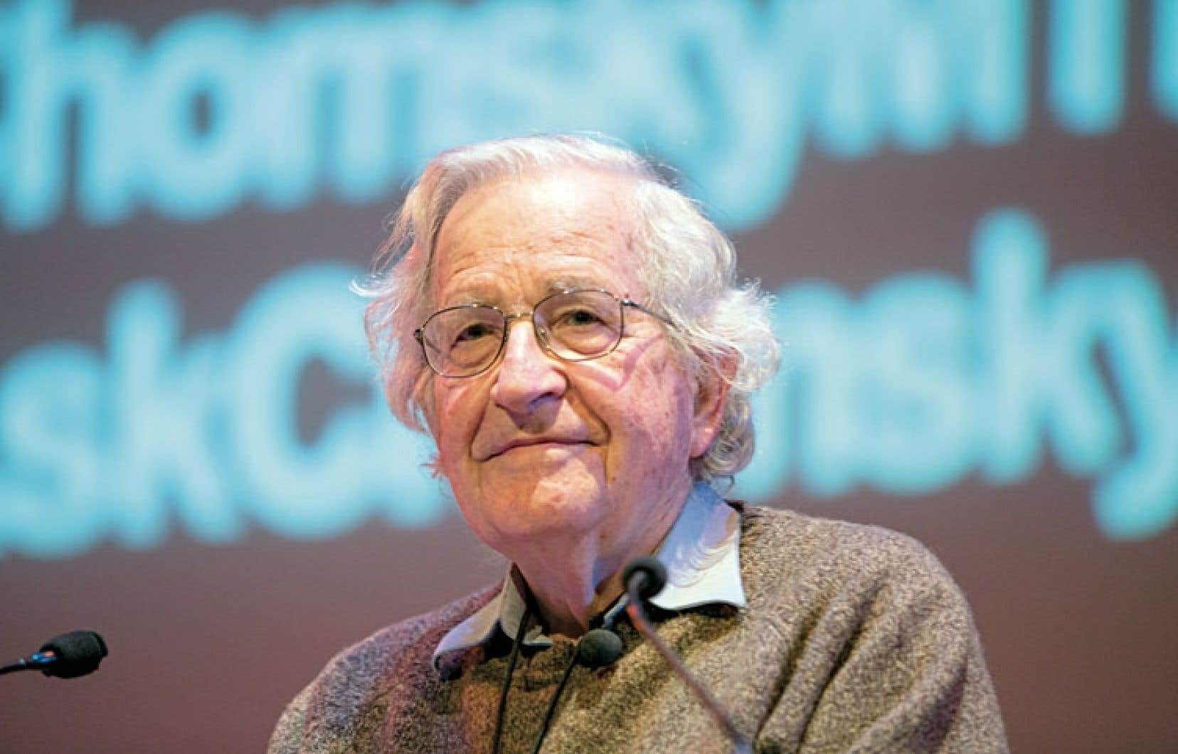 Pour Chomsky, le progressisme s'est développé en marge des engouements collectifs.
