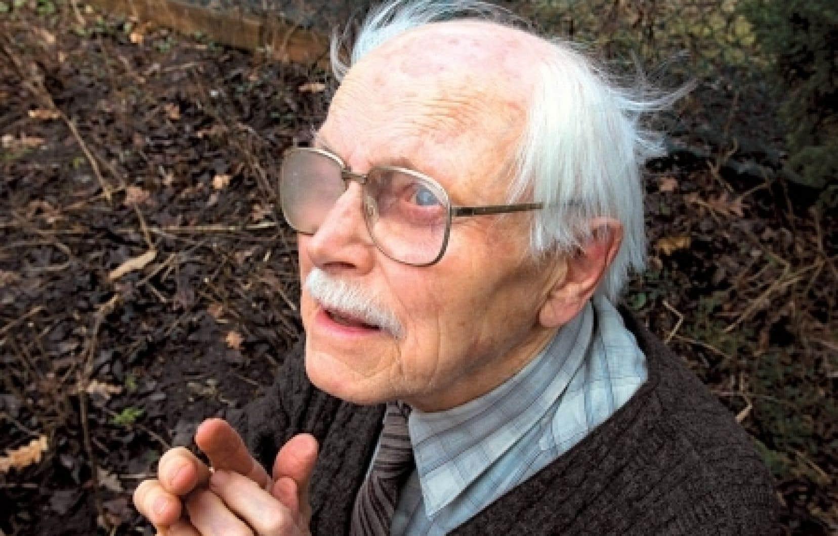 Frédéric Back, créateur du film d'animation L'homme qui plantait des arbres.