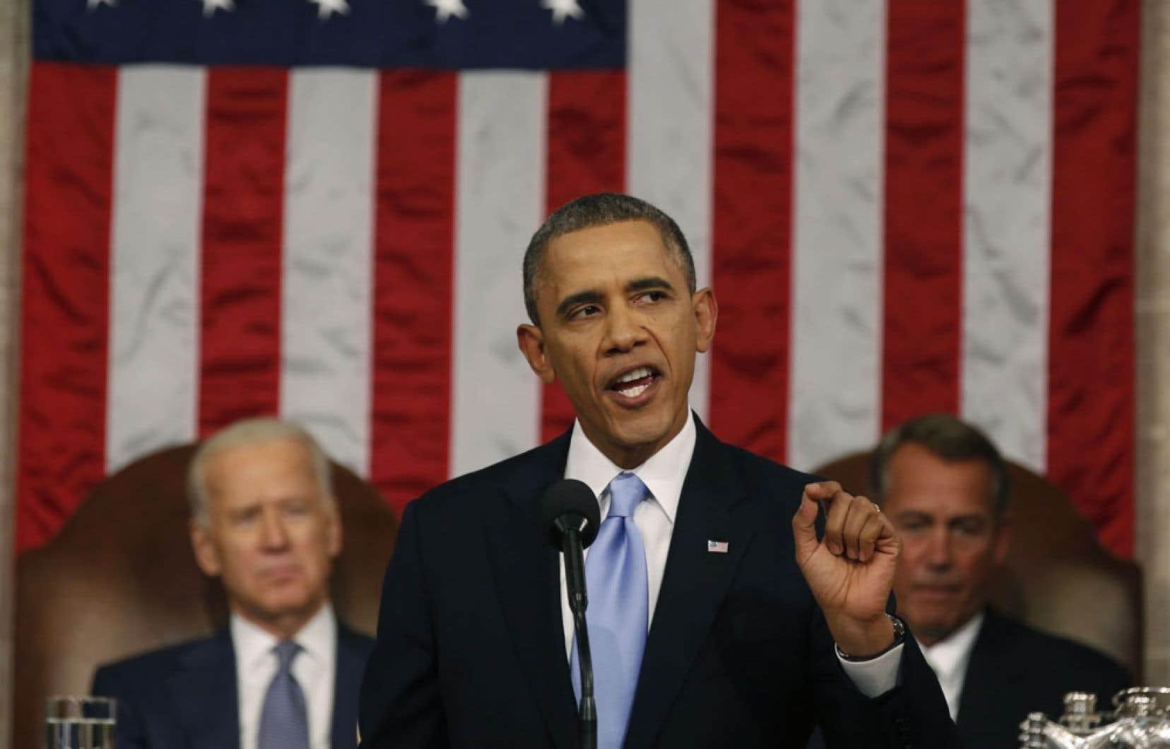 Il appartient aux élus de renverser la tendance menant vers une hausse des inégalités, a dit Barack Obama.