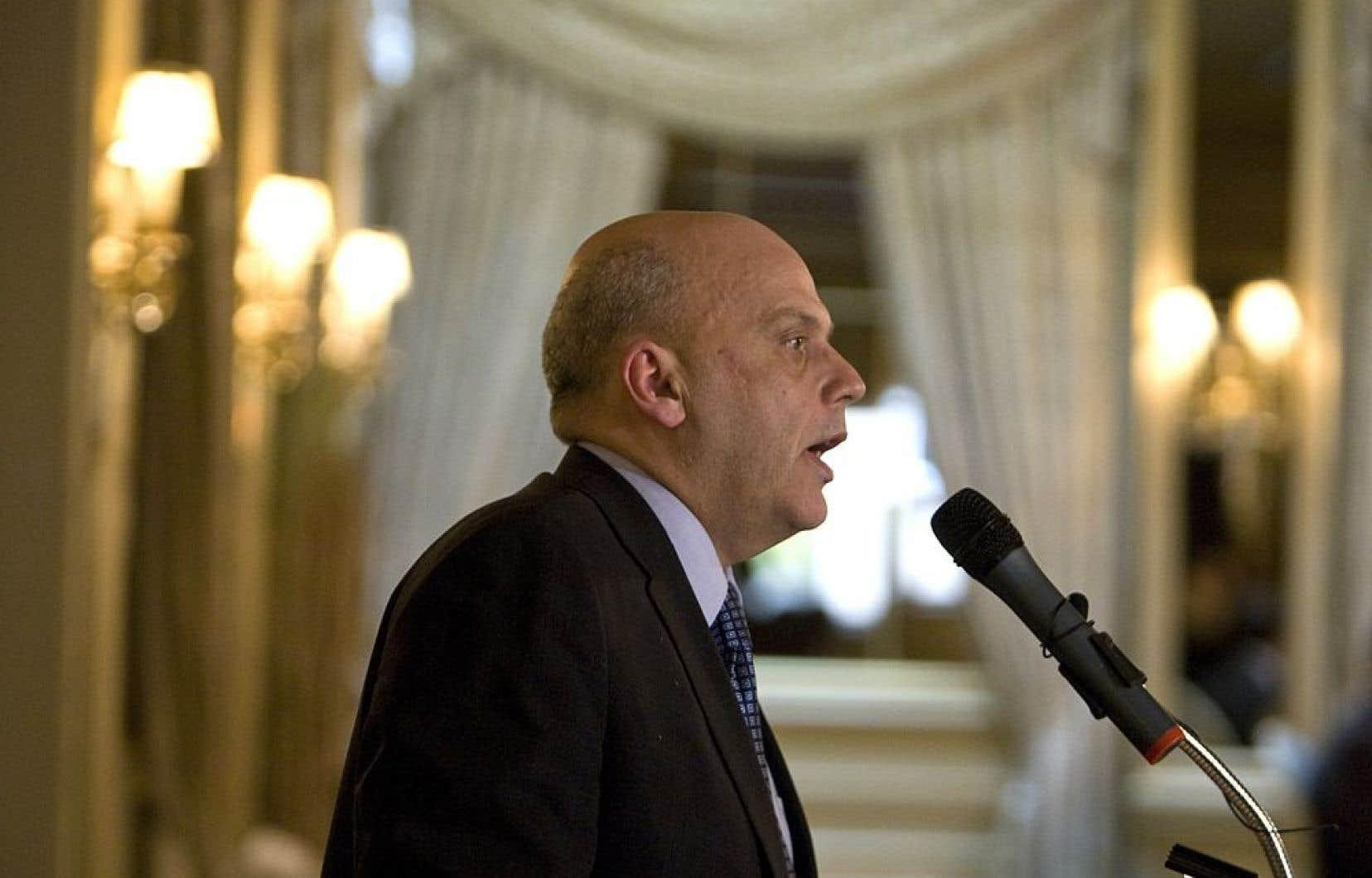 L'ancien patron de l'Autorité des marchés financiers (AMF), Mario Albert, aujourd'hui président d'Investissement Québec.