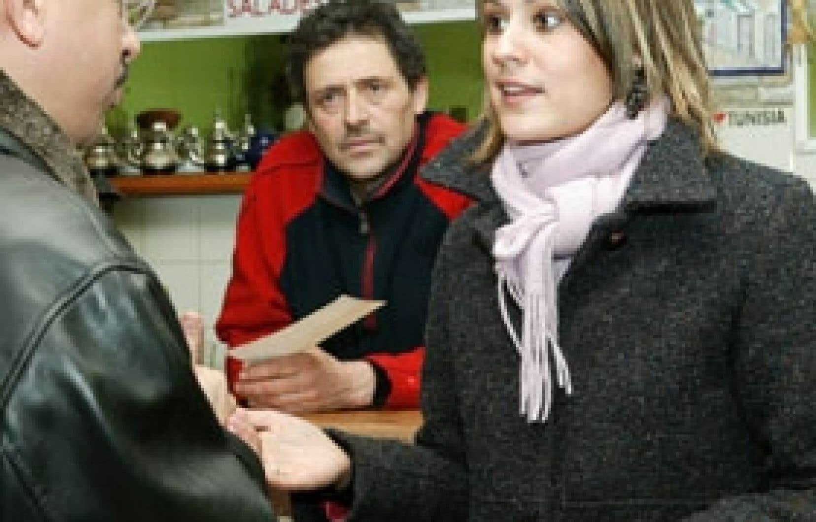 La députée péquiste Elsie Lefebvre a multiplié les rencontres avec ses commettants au cours des deux dernières années.