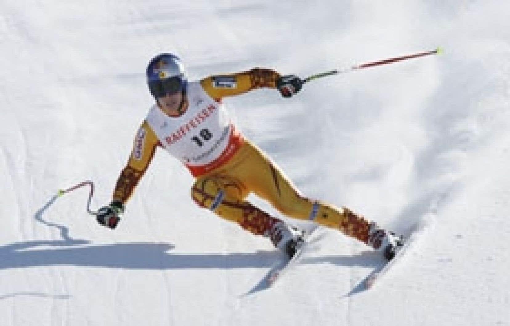 Ski alpin - Érik Guay complète la saison au troisième rang