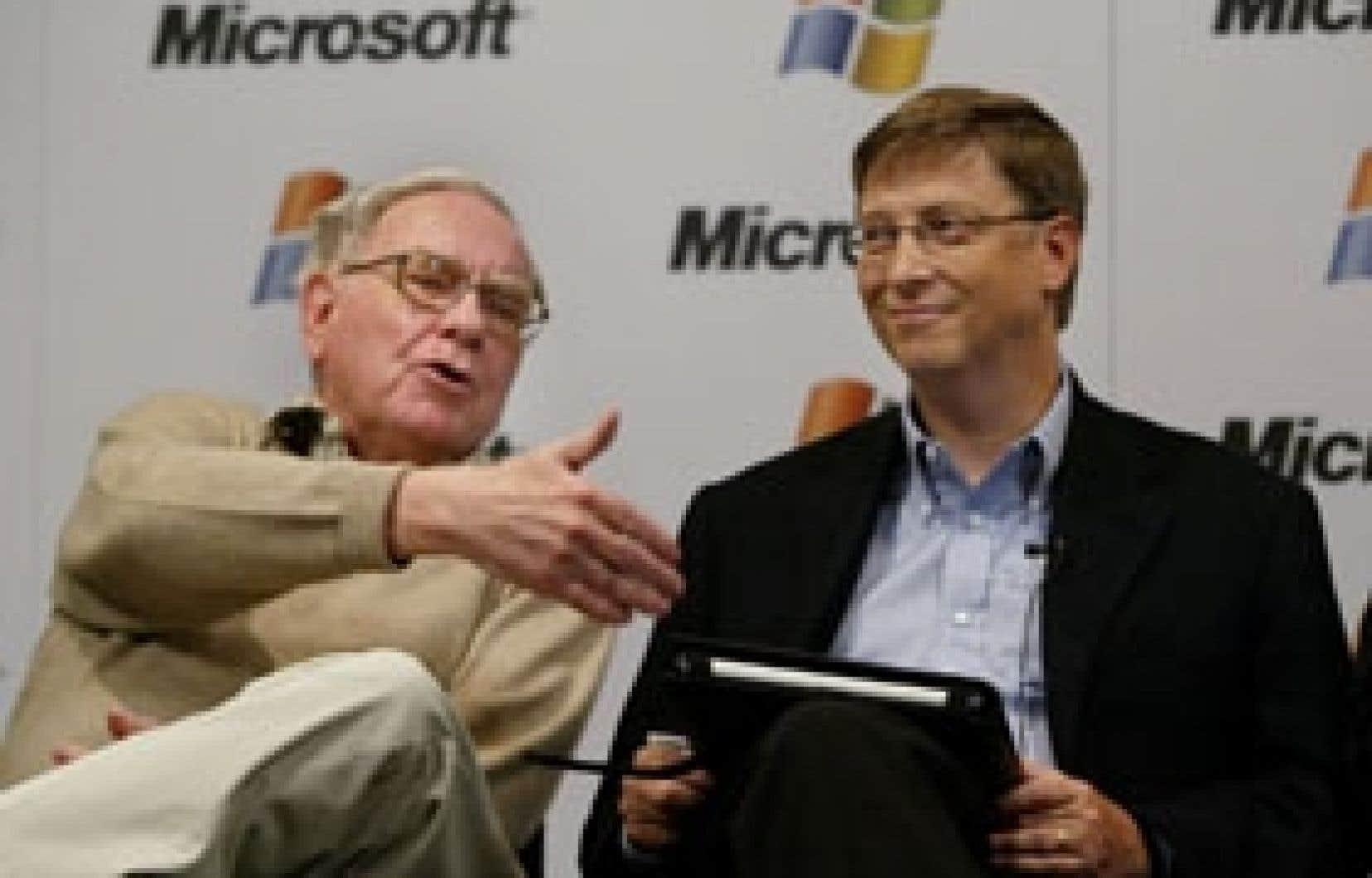 En 2006, le record philanthropique toutes catégories a été battu par le milliardaire Warren Buffett, qui a promis 43,5 milliards. Une trentaine de ces milliards sont destinés à la fondation créée par l'homme le plus riche du monde, Bill Gates.