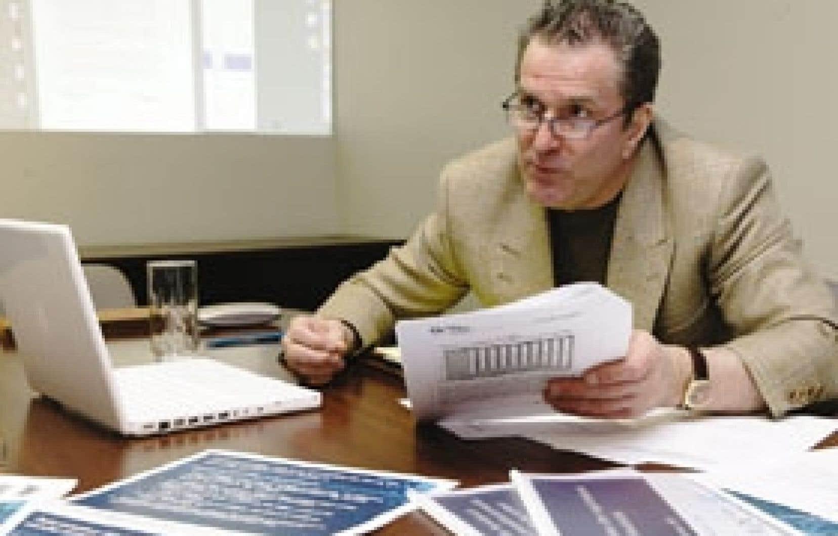 Luc Boulanger, le directeur exécutif de l'Association québécoise des consommateurs industriels d'électricité.