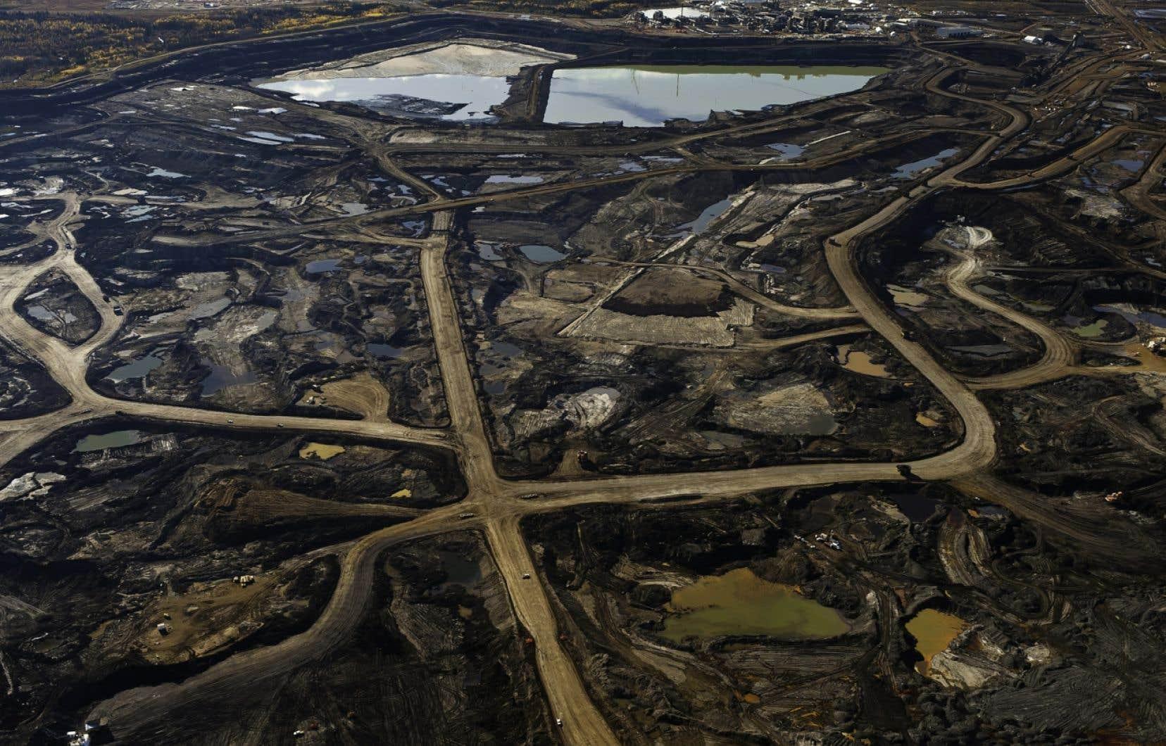 Le mélange des bassins, qui contient des produits chimiques toxiques, est retracé jusque dans les eaux souterraines à proximité des exploitations minières, mais pas dans les secteurs éloignés des zones d'exploitation.