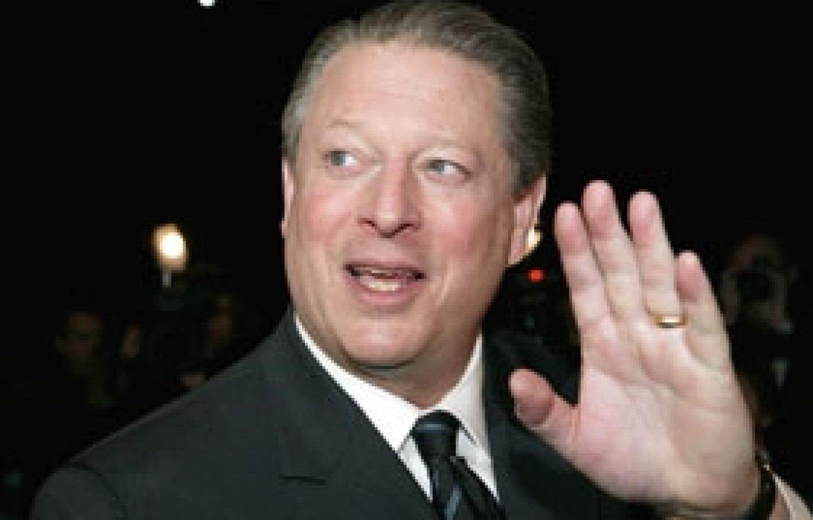 Al Gore était l'invité du Groupe des investisseurs responsables.