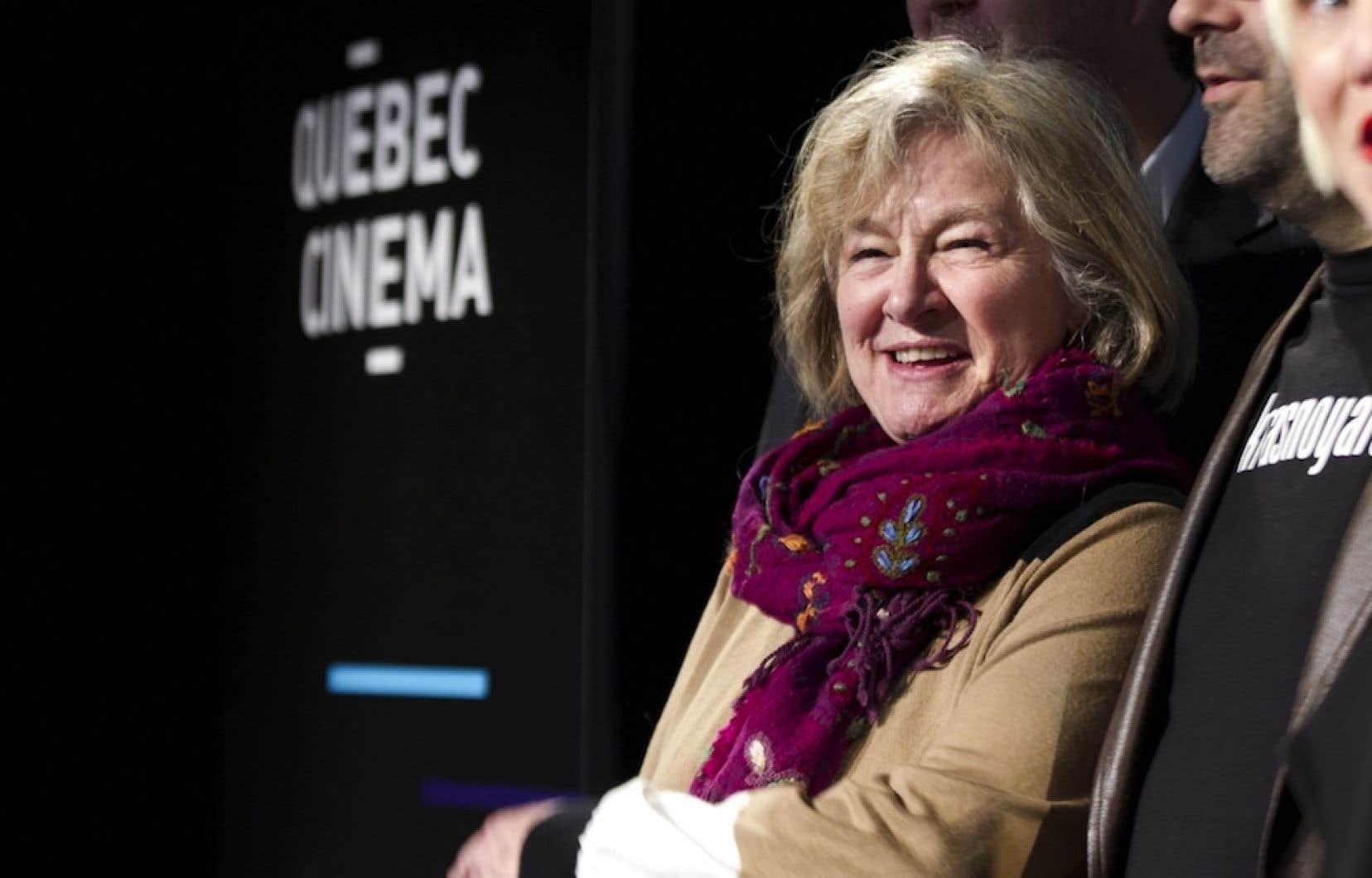 La comédienne et cinéaste Micheline Lanctôt
