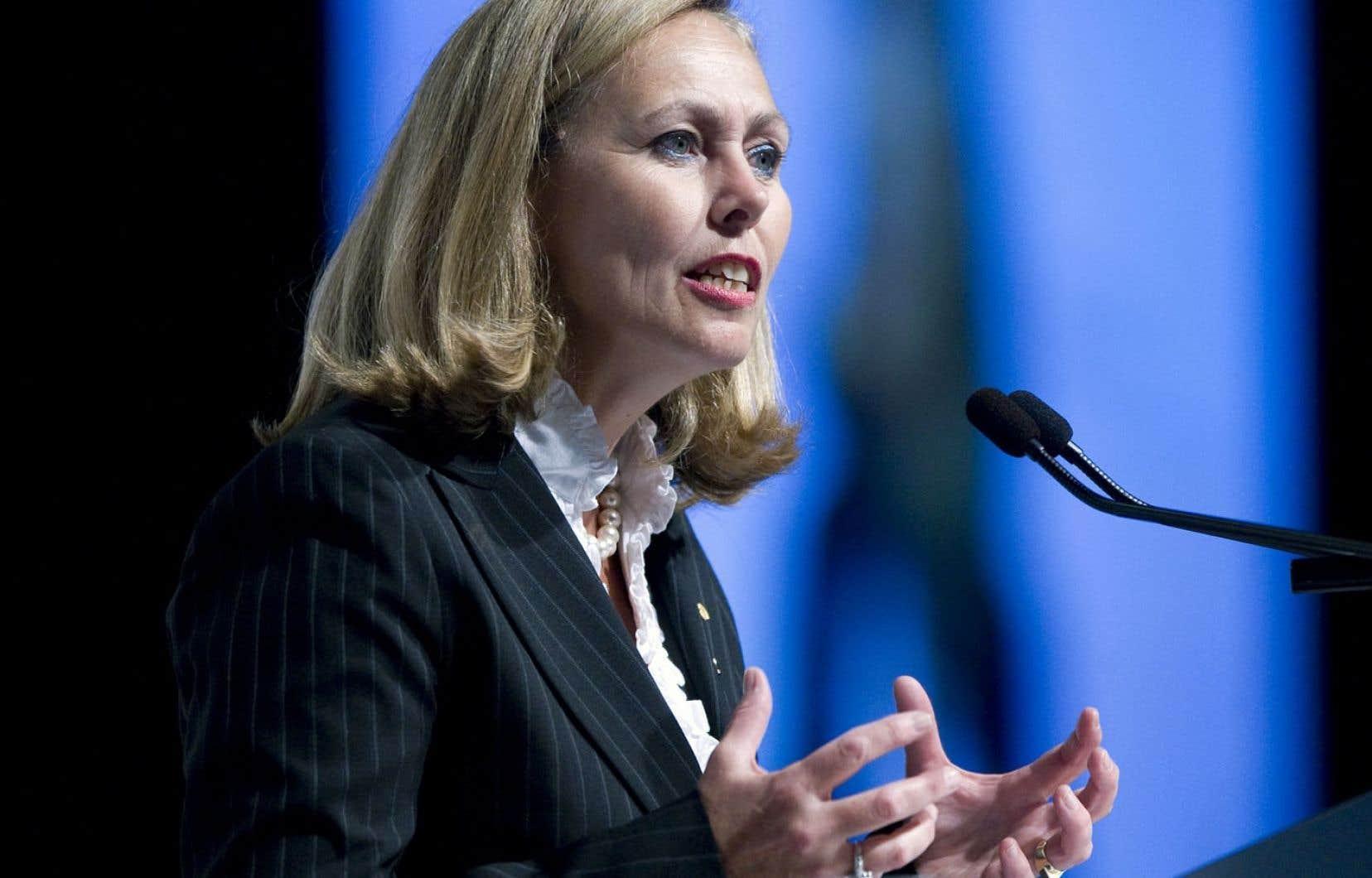 Monique Leroux: <em>«Certaines banques canadiennes ont retrouvé un intérêt pour le Québec.»</em>