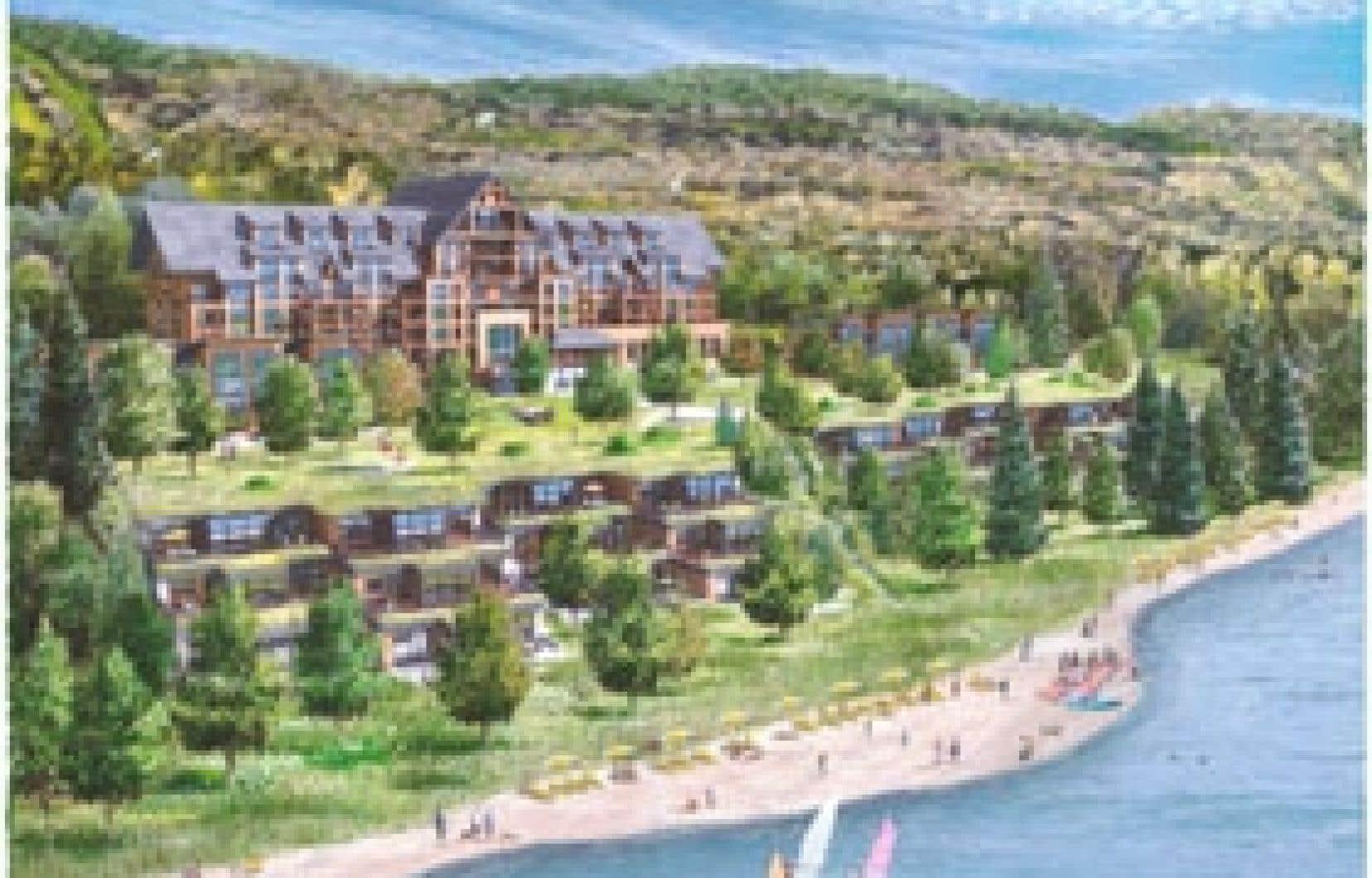 Le projet situé à Saint-Donat coûtera 80 millions, et les unités sont offertes à la vente à des prix variant de 194 000 $ à 895 000 $.