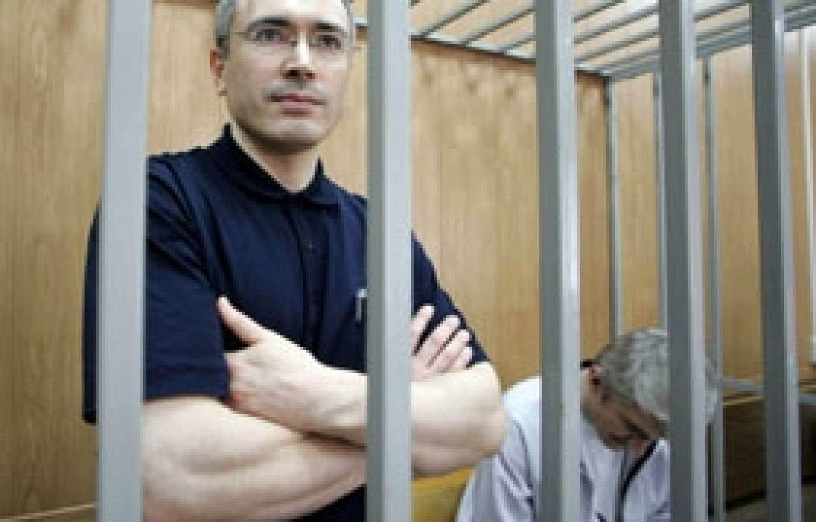 Le procès de Mikhaïl Khodorkovski, tenu il y a deux ans, a été qualifié de «farce judiciaire» par les défenseurs des droits de l'Homme et critiqué par Washington.