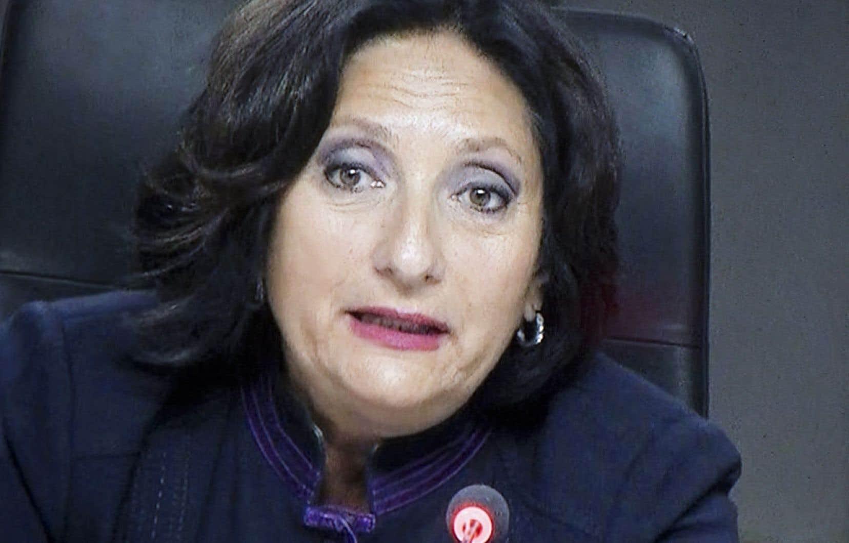 La juge France Charbonneau