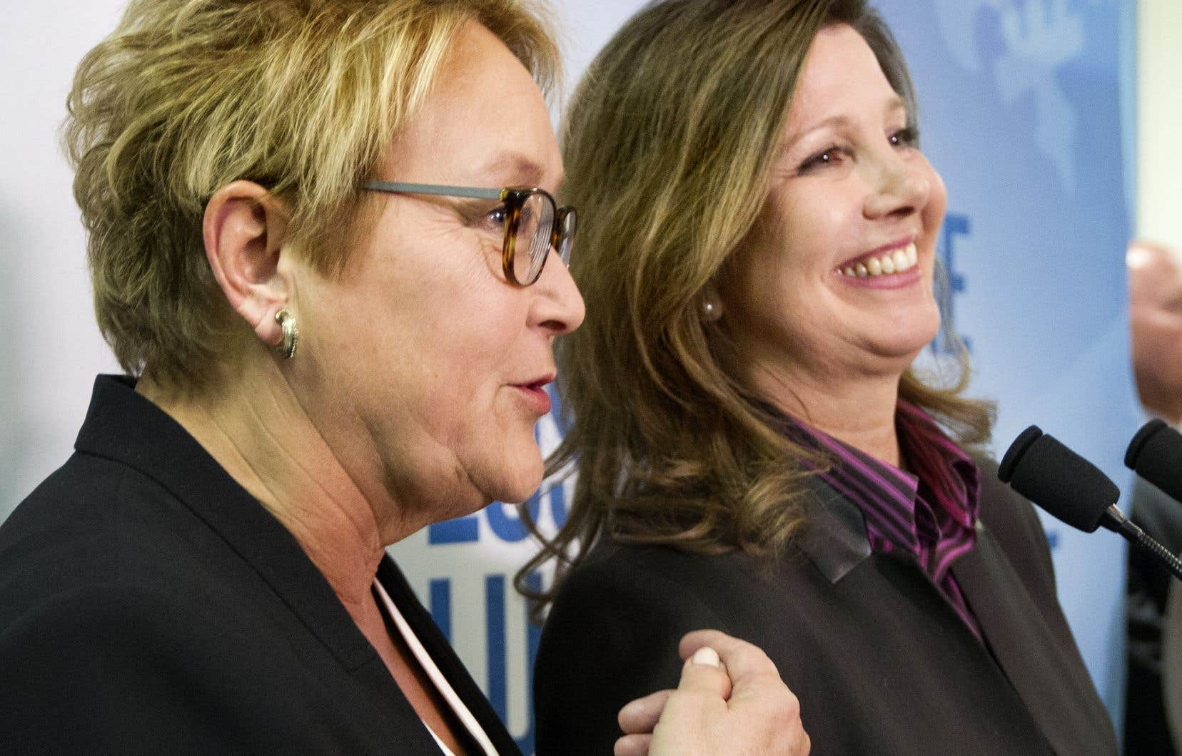 La présidente de l'Ordre des pharmaciens, Diane Lamarre, sera candidate dans Taillon, une forteresse péquiste laissée la veille par la ministre Marie Malavoy.