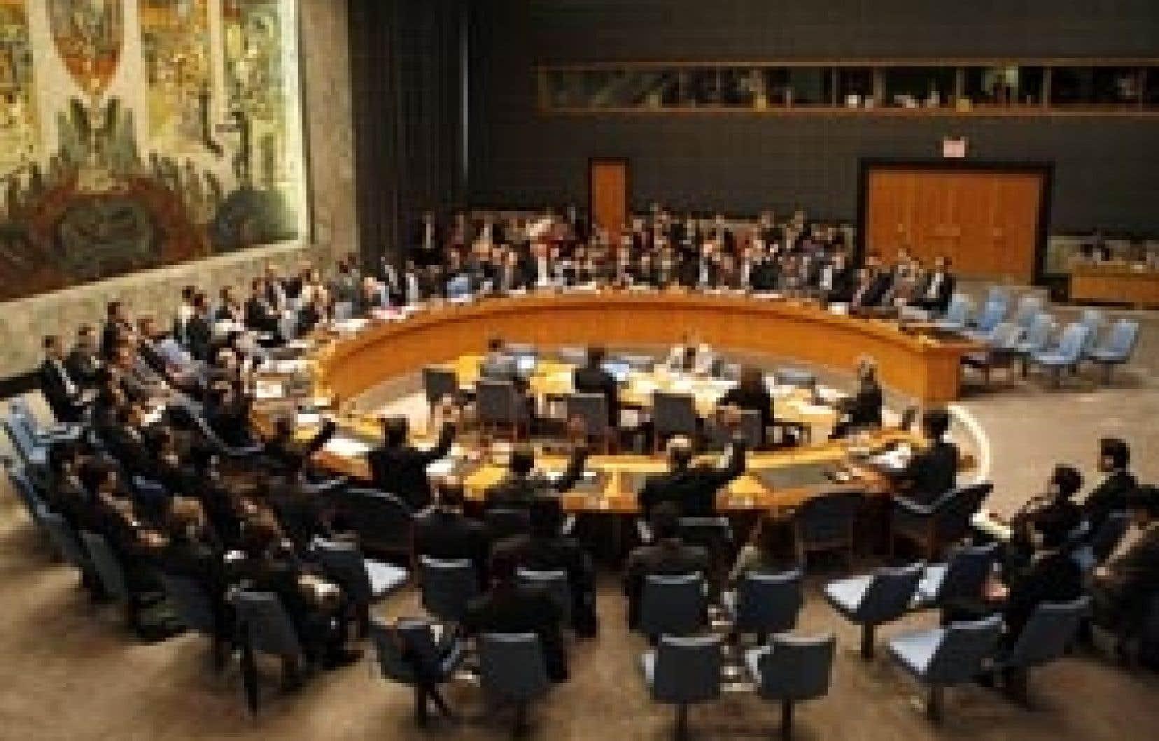 Le Conseil de sécurité a été unanime.