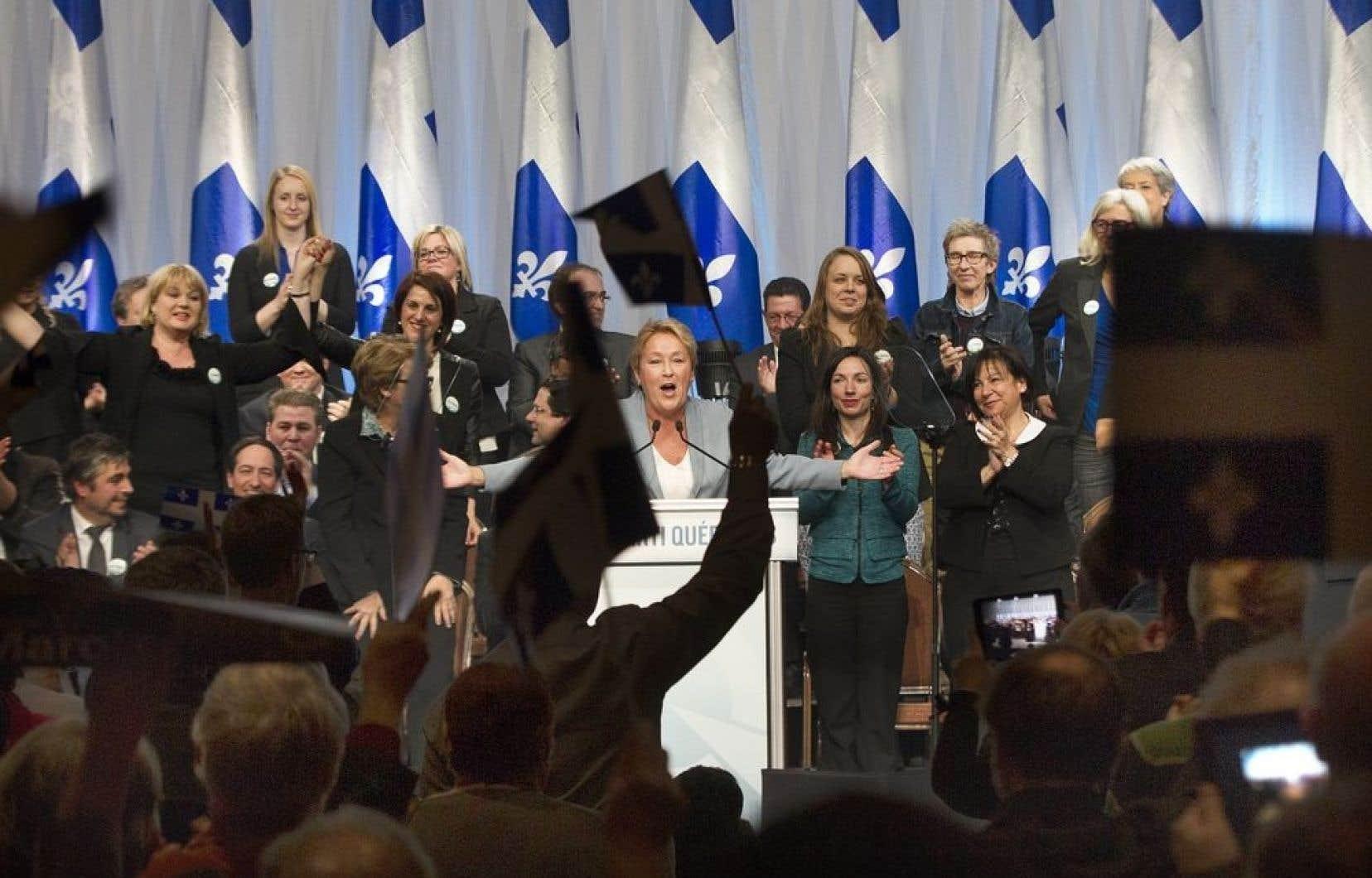 <em>«Le temps est effectivement venu de réfléchir de nouveau à notre avenir»</em>, a déclaré samedi après-midi Mme Marois devant quelque 700 militants péquistes réunis en conseil national électoral à l'Hôtel Sheraton de Laval.