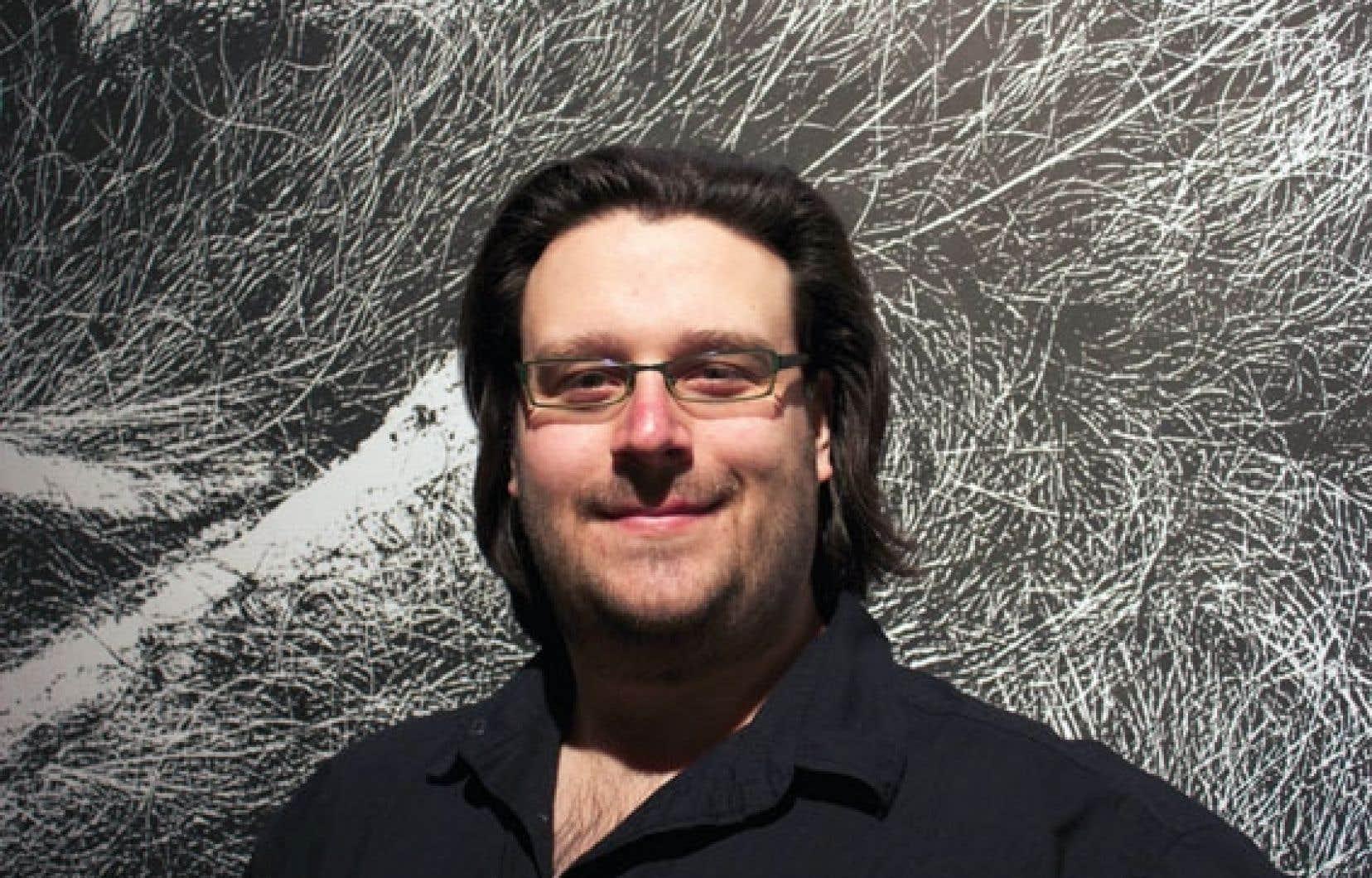 Le compositeur Éric Champagne a créé une 1re Symphonie qui respecte la structure en 4 mouvements pour une œuvre de 30 minutes environ.