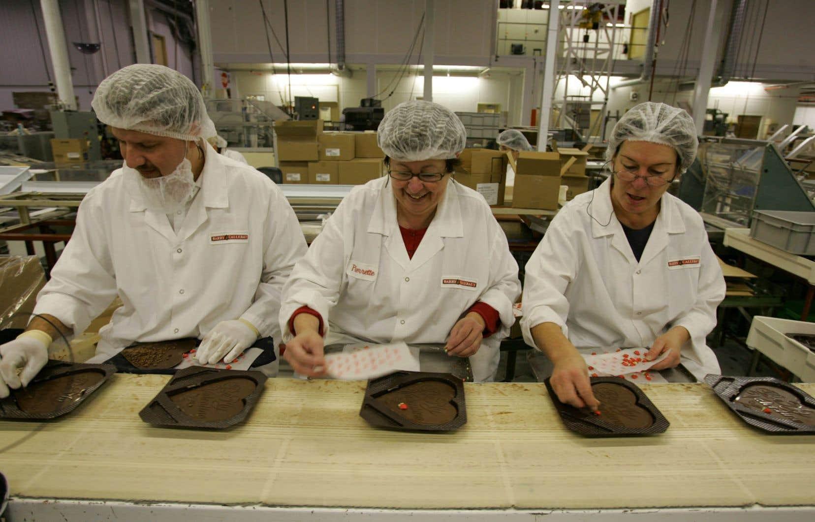 Une manufacture de chocolat au Québec: le bonheur avant tout.