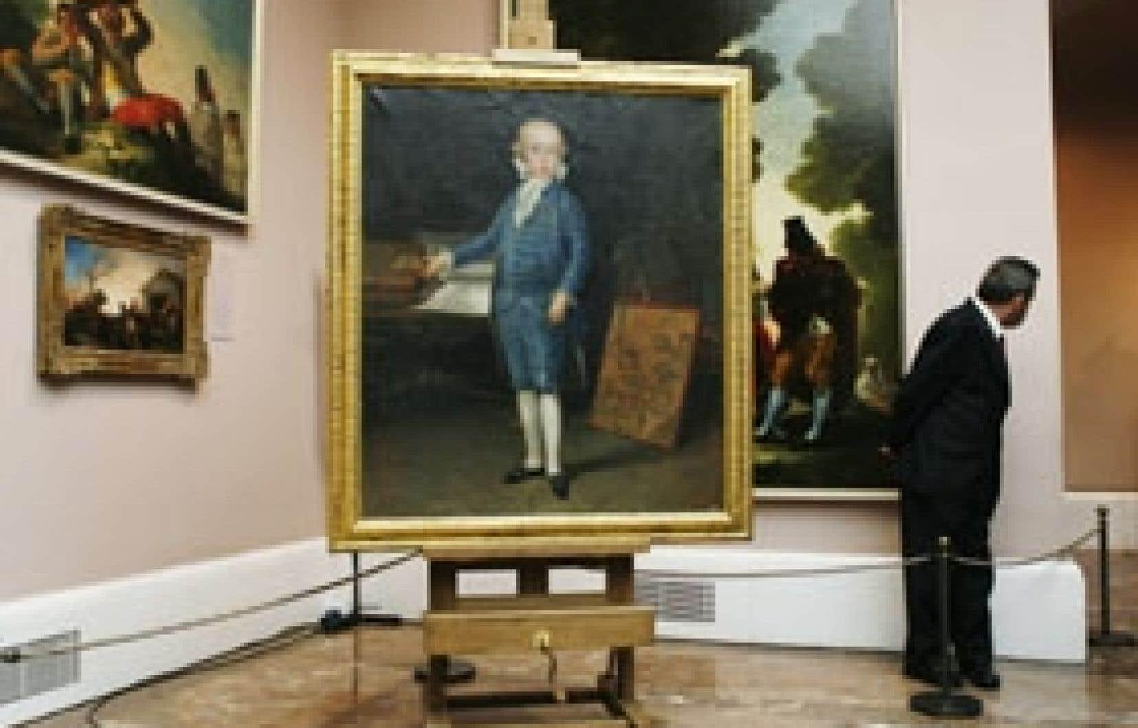 Le tableau, bien conservé, est «pratiquement dans l'état où l'avait laissé Goya», a déclaré hier le directeur adjoint du Prado, Gabriele Finaldi, lors de la présentation de cette oeuvre à la presse.