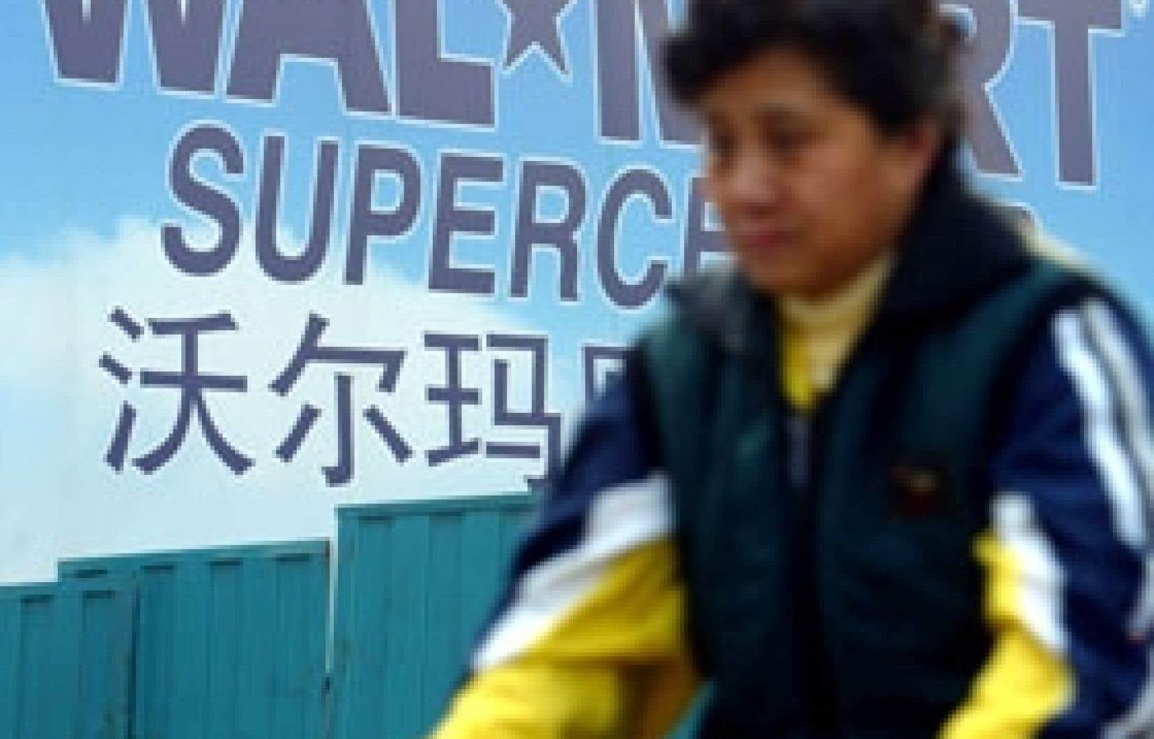 La All-China Federation of Trade Unions a réussi à syndiquer les employés de Wal-Mart dans ce pays.