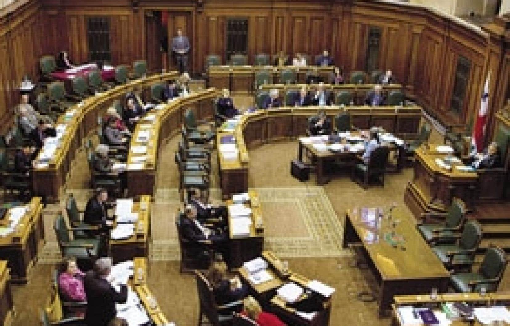 Beaucoup d'appelés mais peu d'élus à la séance d'hier après-midi du conseil municipal.